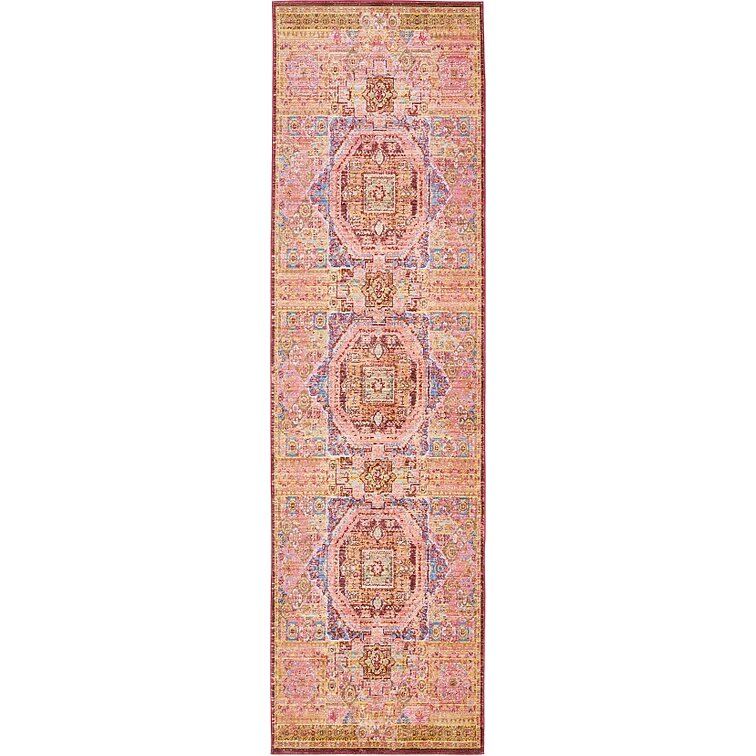 Unique Loom Aria Peach Area Rug Amp Reviews Wayfair