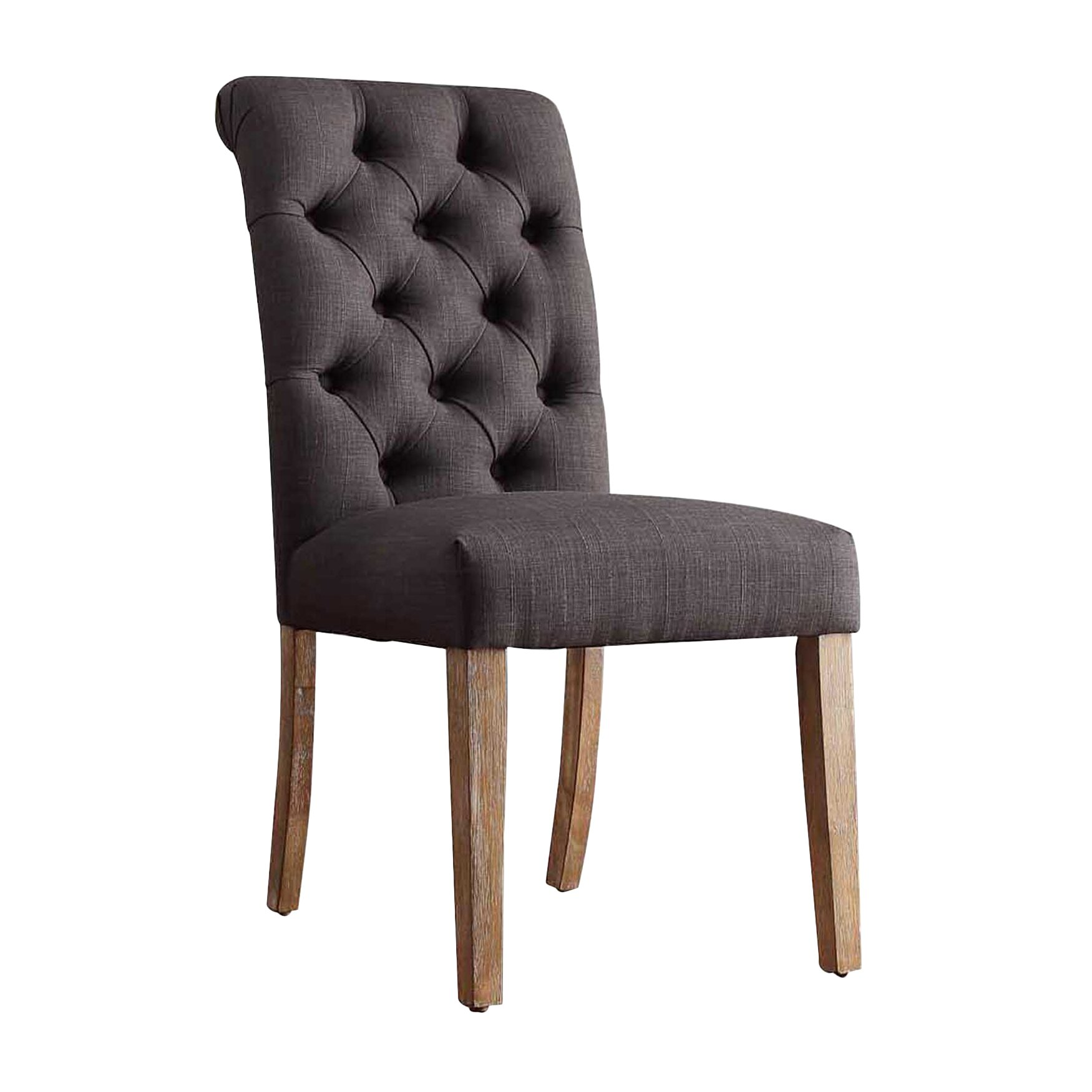 Lark Manor Pompon Tufted Side Chair Amp Reviews Wayfair