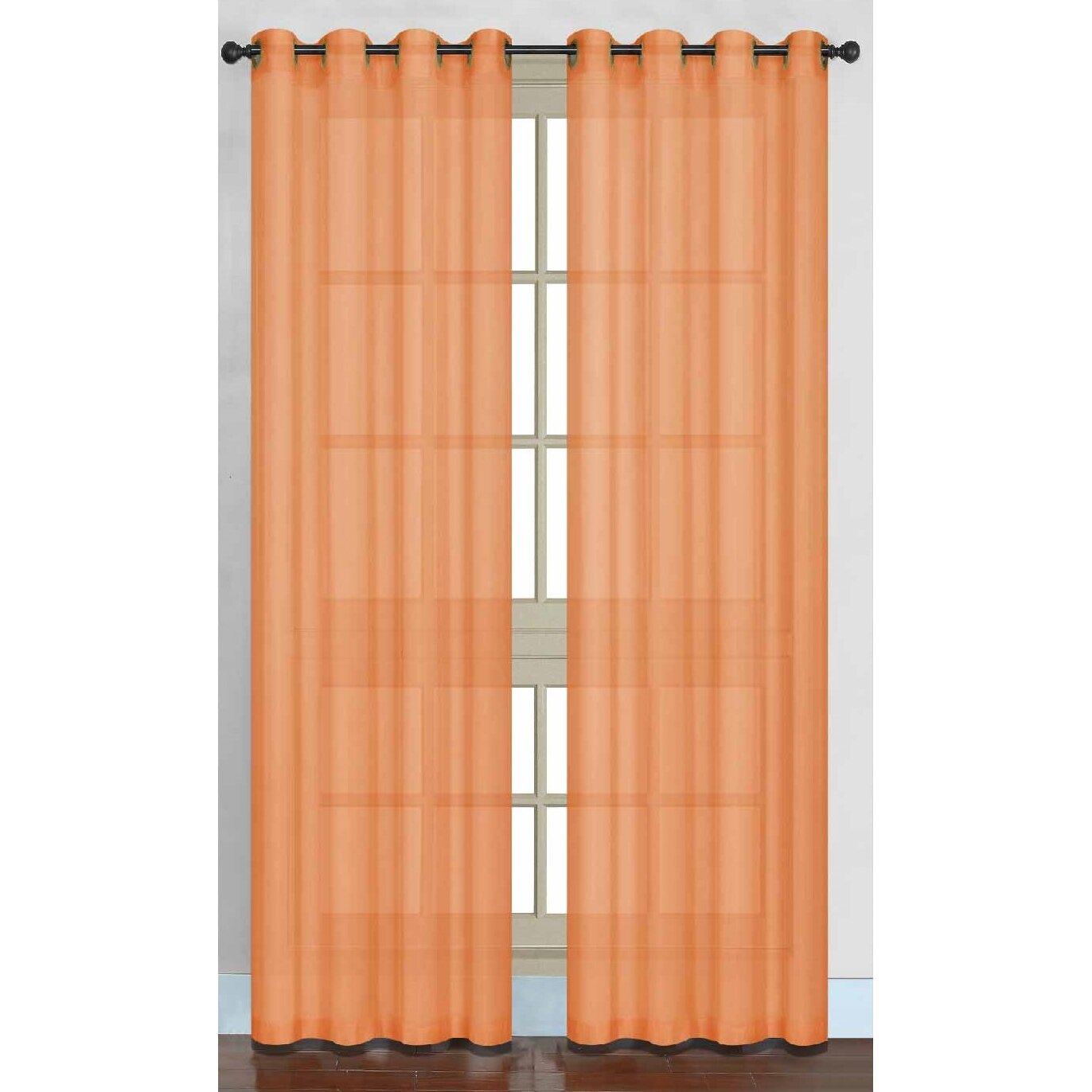 Daniels Bath Juliet Sheer Curtain Panel Amp Reviews Wayfair