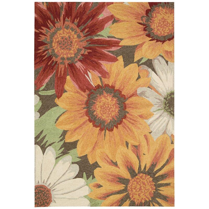 Nourison South Beach Sunflower Indoor/Outdoor Area Rug