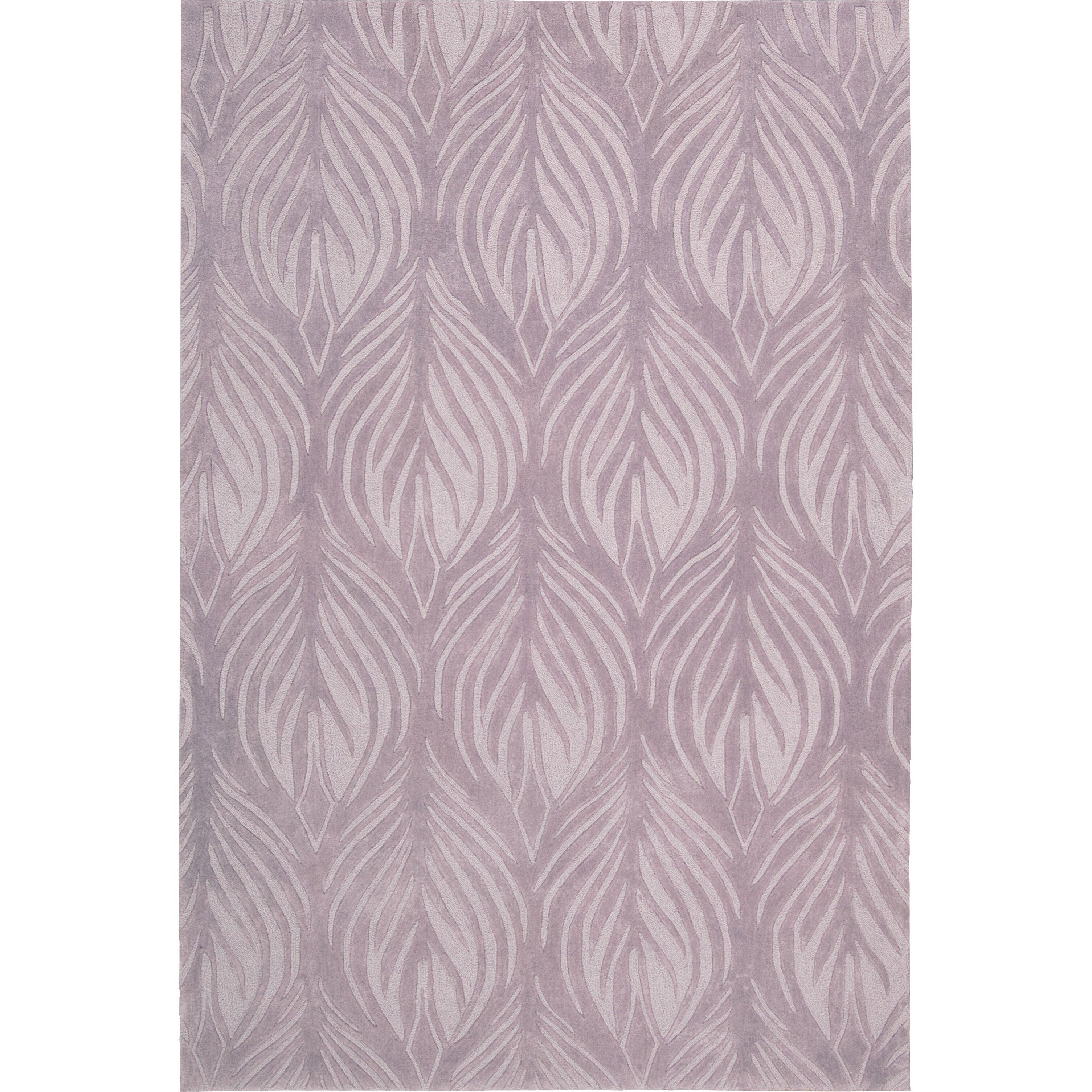 Lavender Rug: Nourison Contour Lavender Area Rug & Reviews