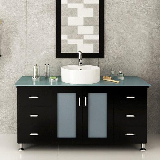 Grand Lune 47 Single Vessel Modern Bathroom Vanity Set Wayfair