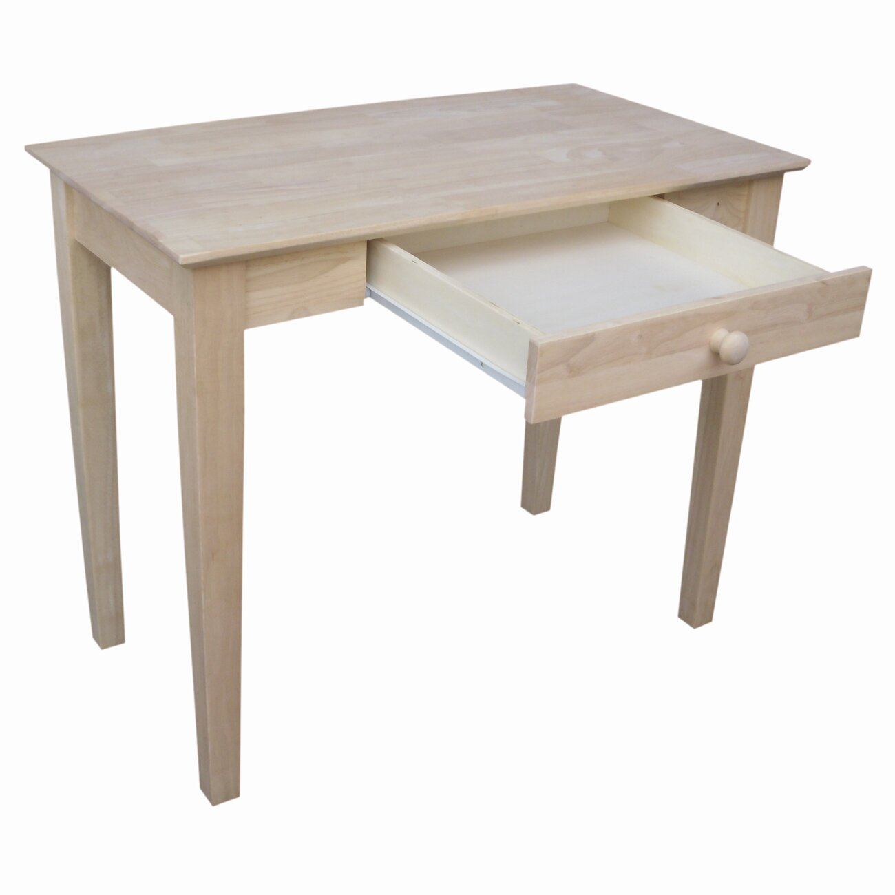 International Concepts Unfinished Parawood Writing Desk