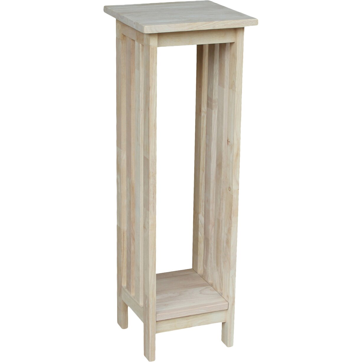 Unfinished wood plant stand wayfair