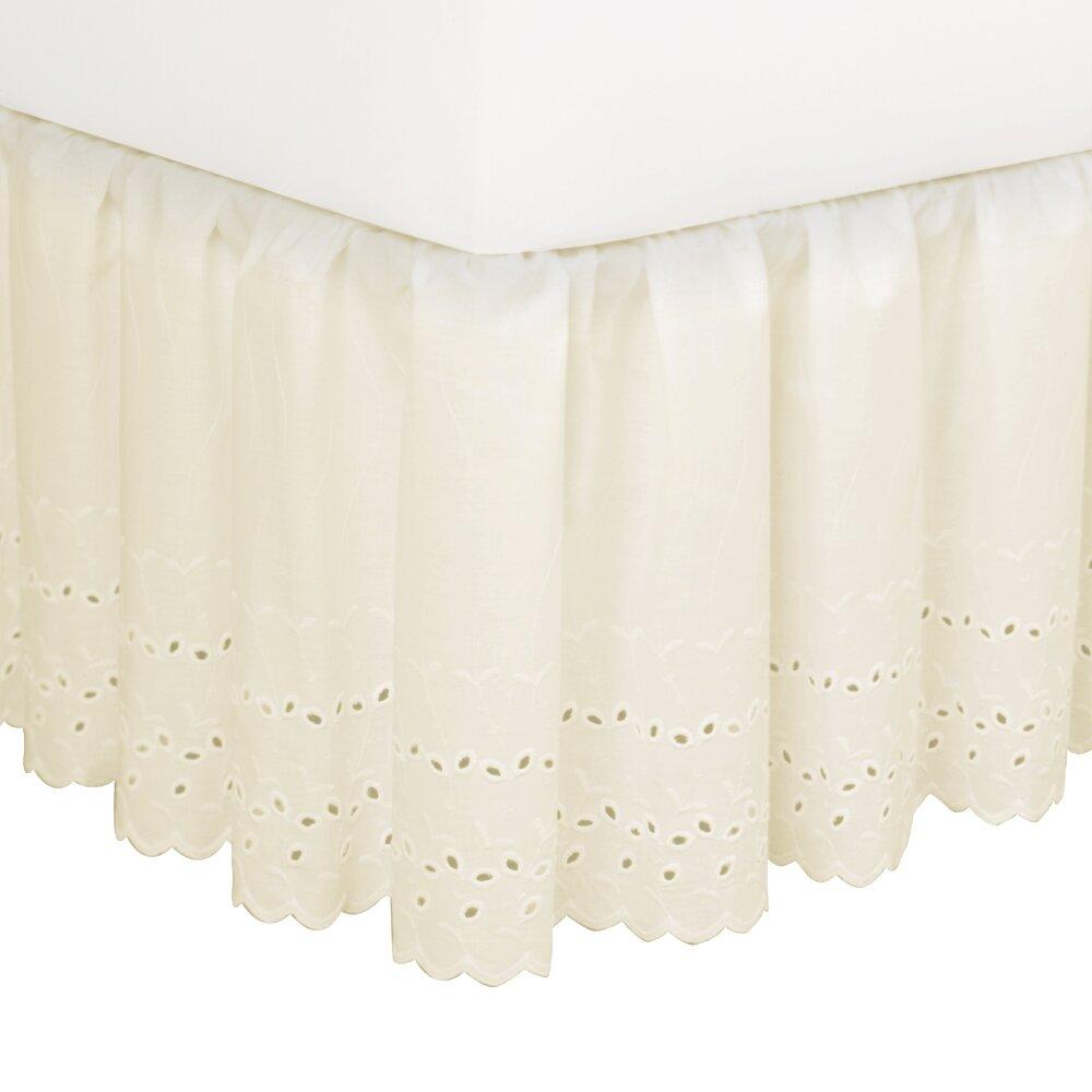 August Grove Nayara Eyelet Extra Long 145 Thread Count Bed