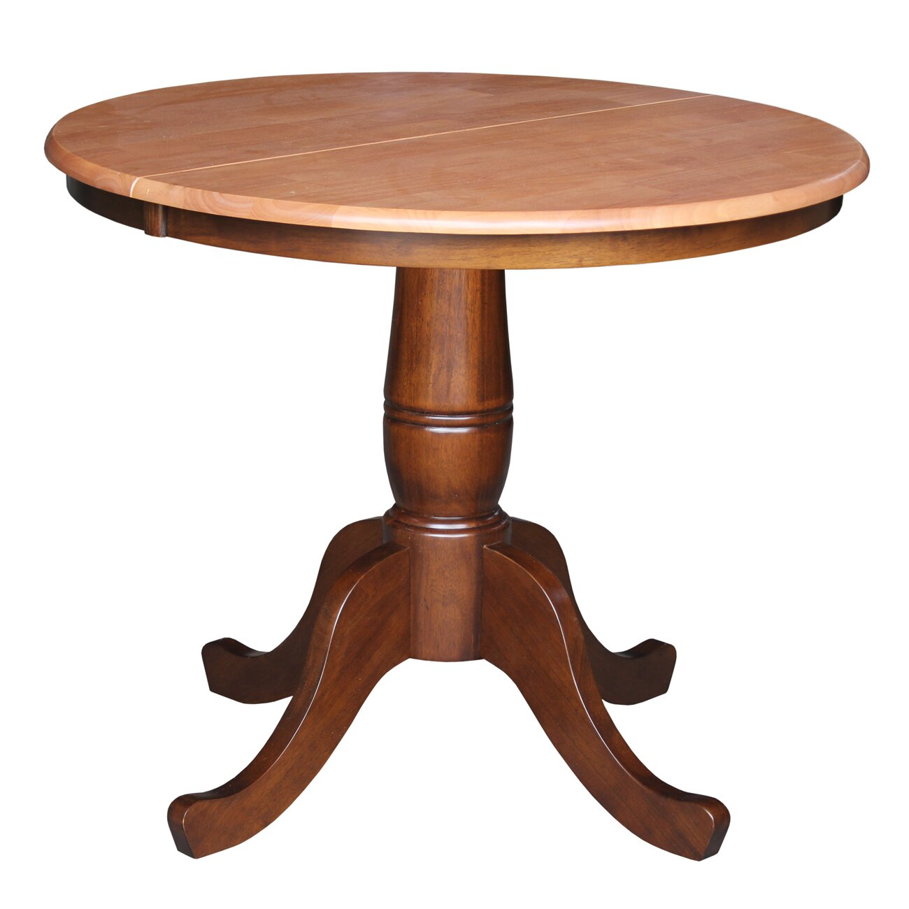 Comforter 36 Extendable Round Pedestal Dining Table By August Grove