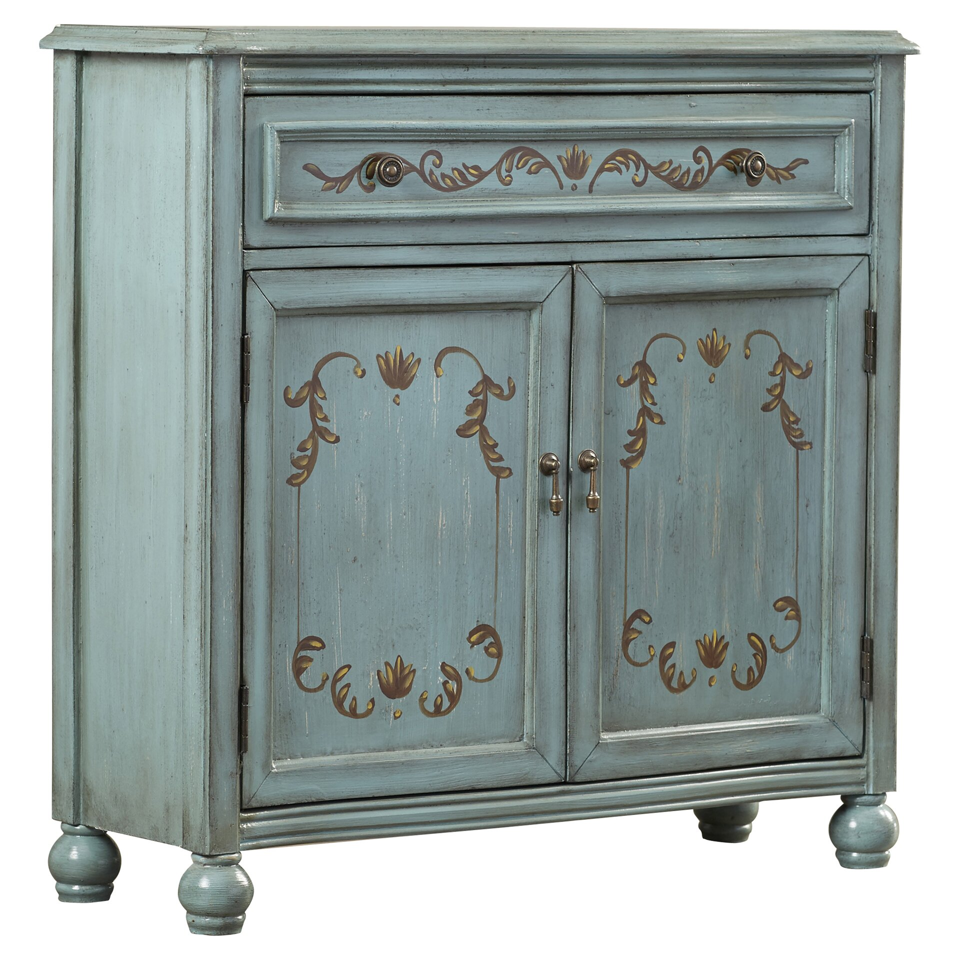 One allium way lotta 1 drawer 2 door accent cabinet for One day doors and closets reviews