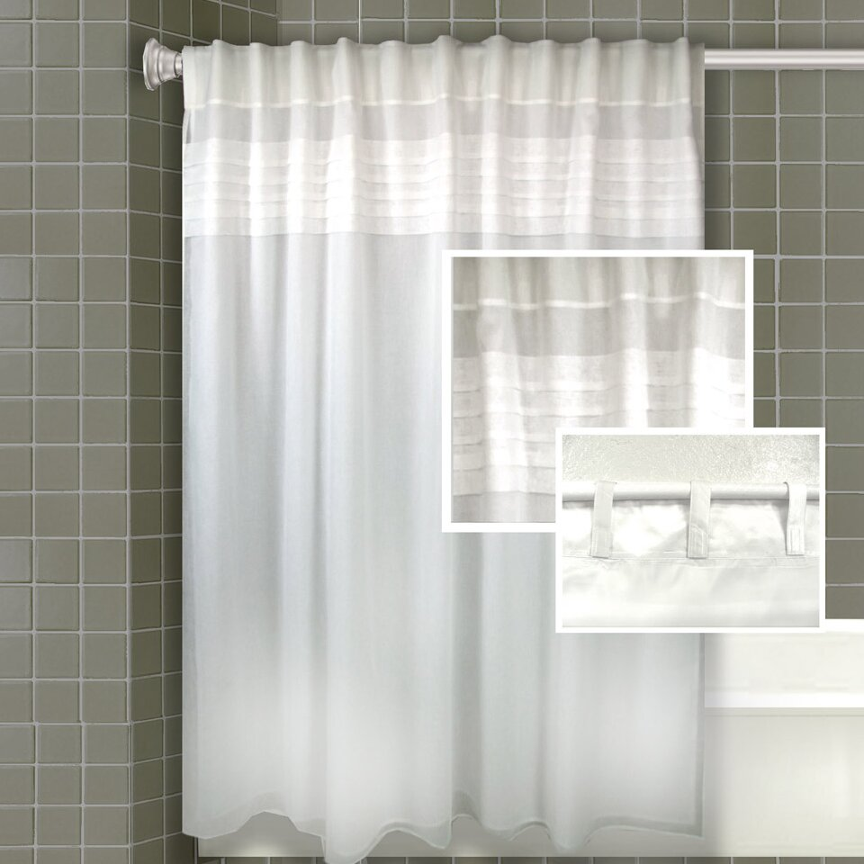 merle all in one shower curtain wayfair