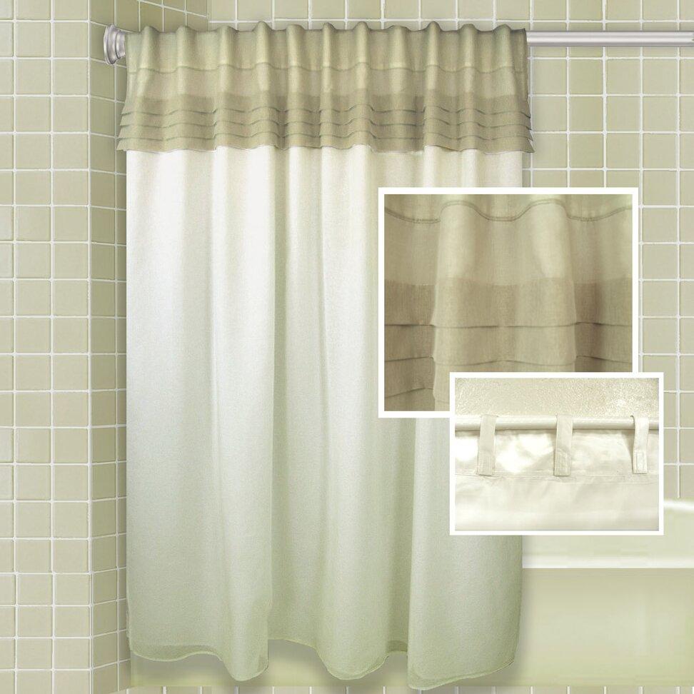 merle all in one shower curtain wayfair