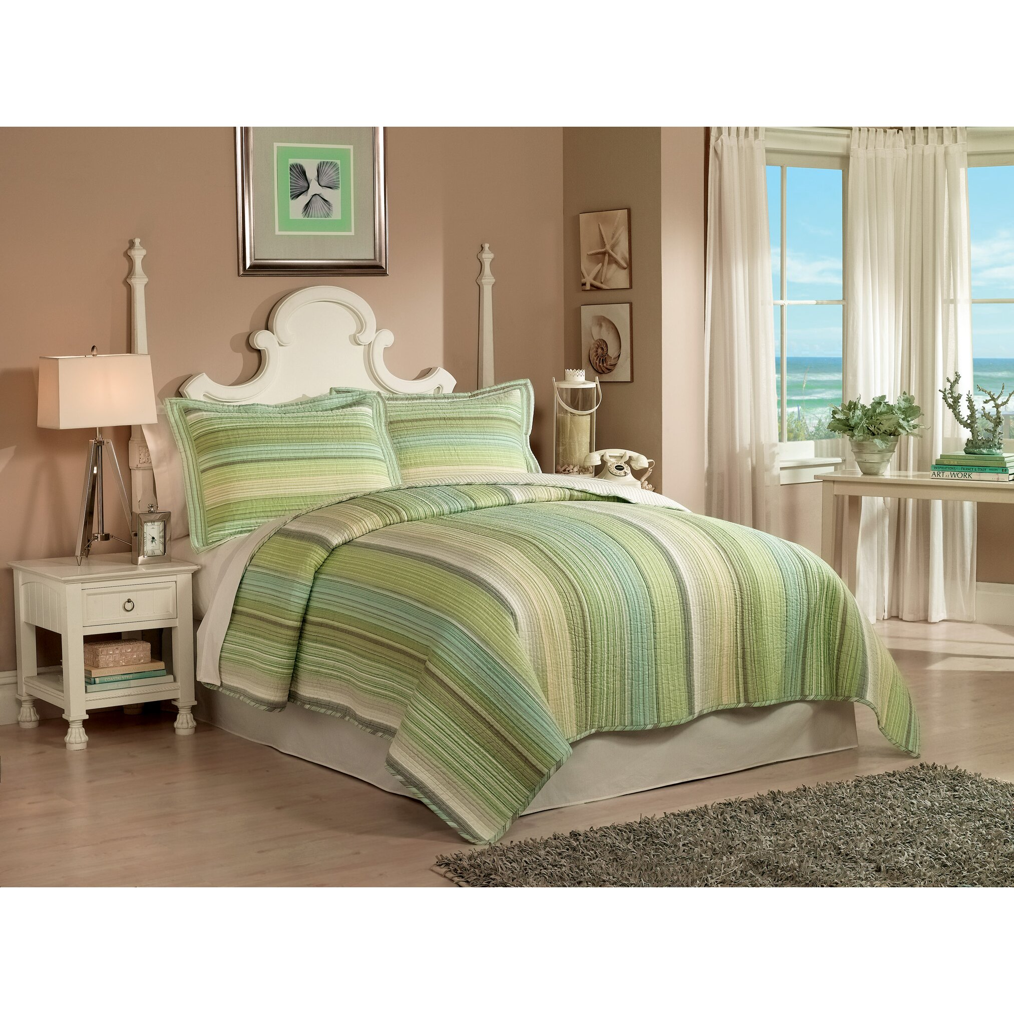 Beachcrest Home Centreville Coverlet Set & Reviews