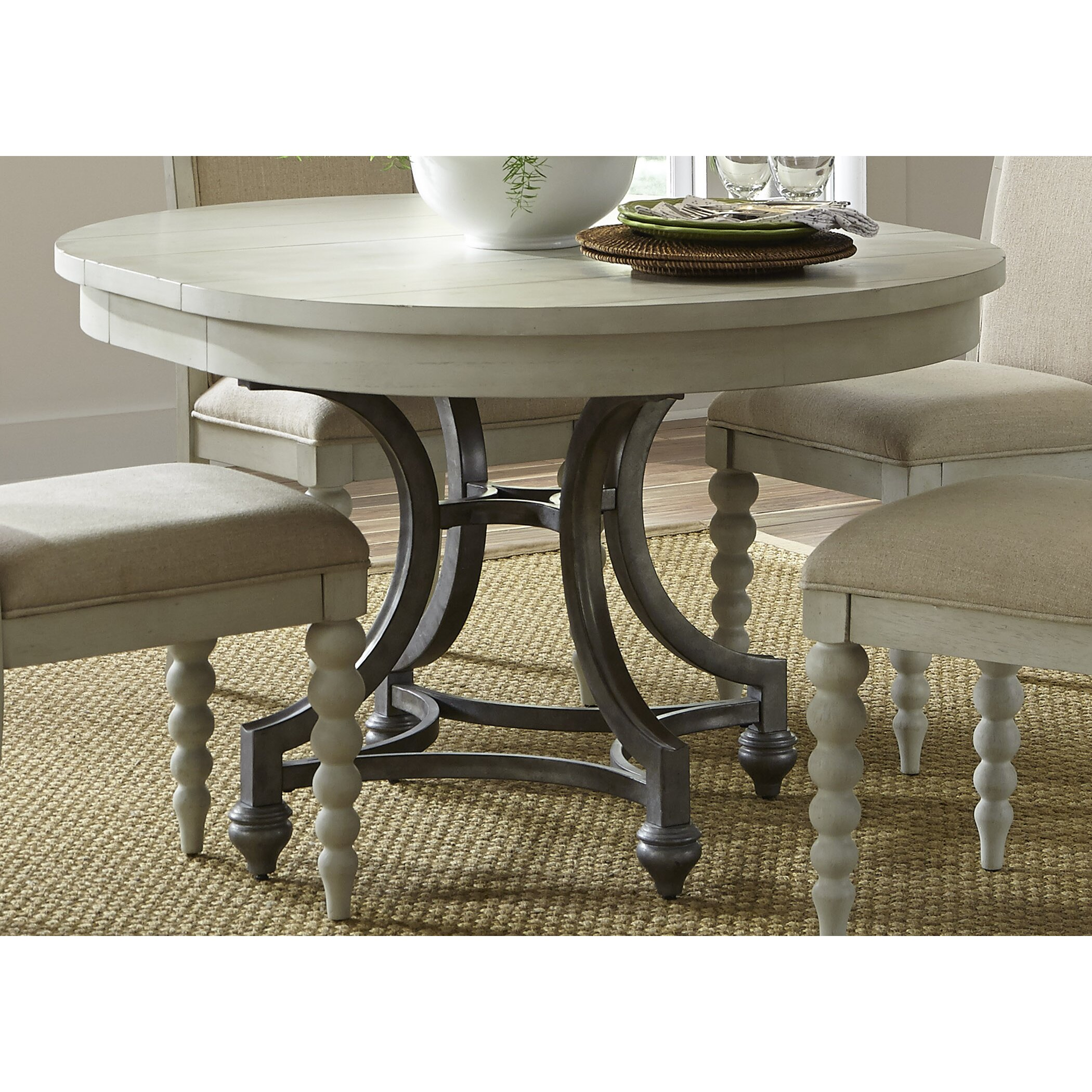 Wayfair Table: Beachcrest Home Stamford Round Dining Table & Reviews
