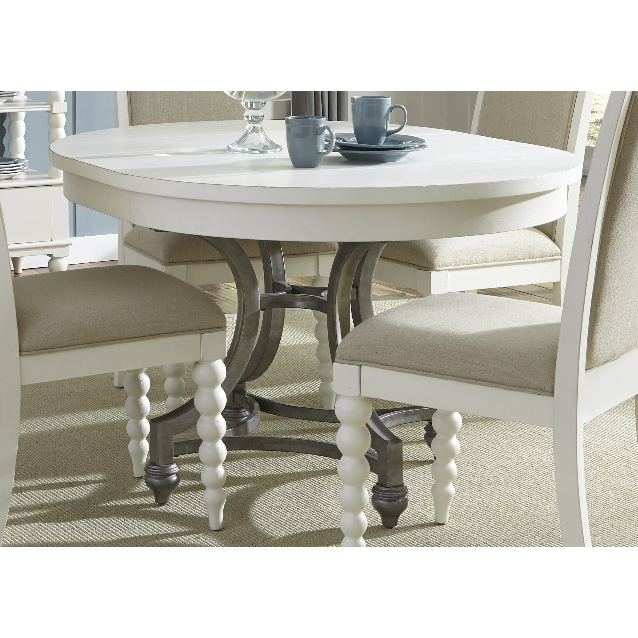 Round Kitchen Tables: Beachcrest Home Stamford Round Dining Table & Reviews