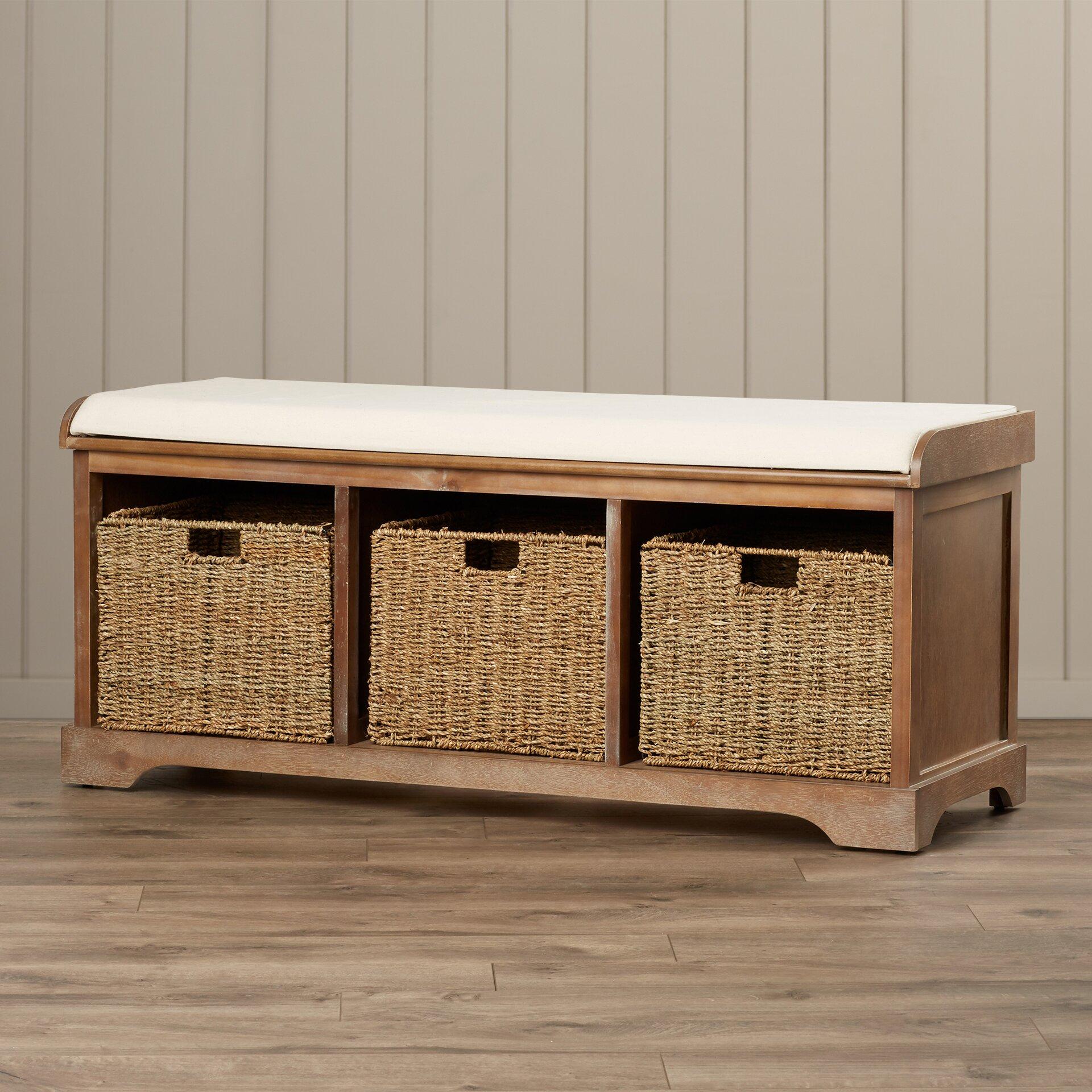 beachcrest home seminole wood storage hallway bench reviews wayfair. Black Bedroom Furniture Sets. Home Design Ideas