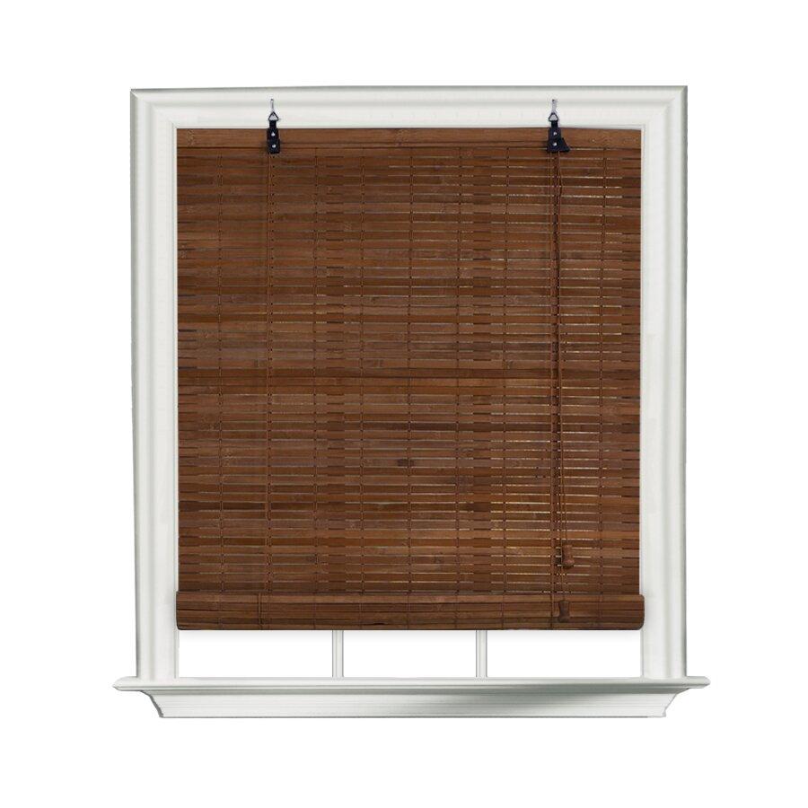 Beachcrest Home Flatstick Bamboo Roll Up Blind Amp Reviews