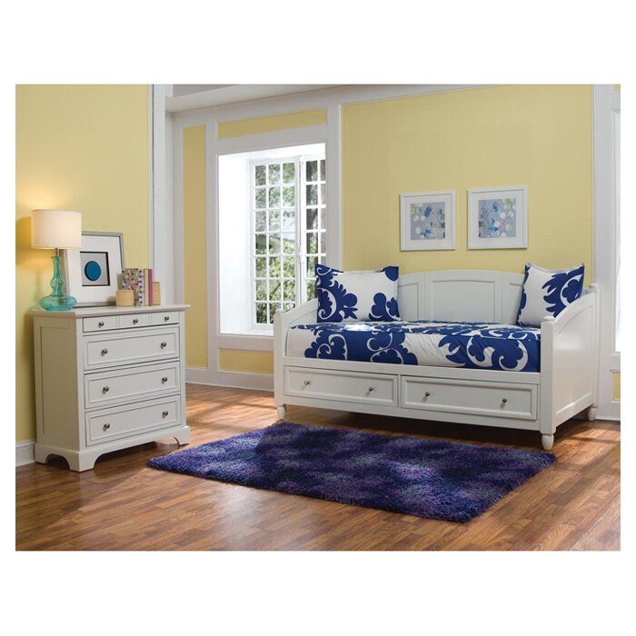 beachcrest home perth amboy white daybed reviews wayfair