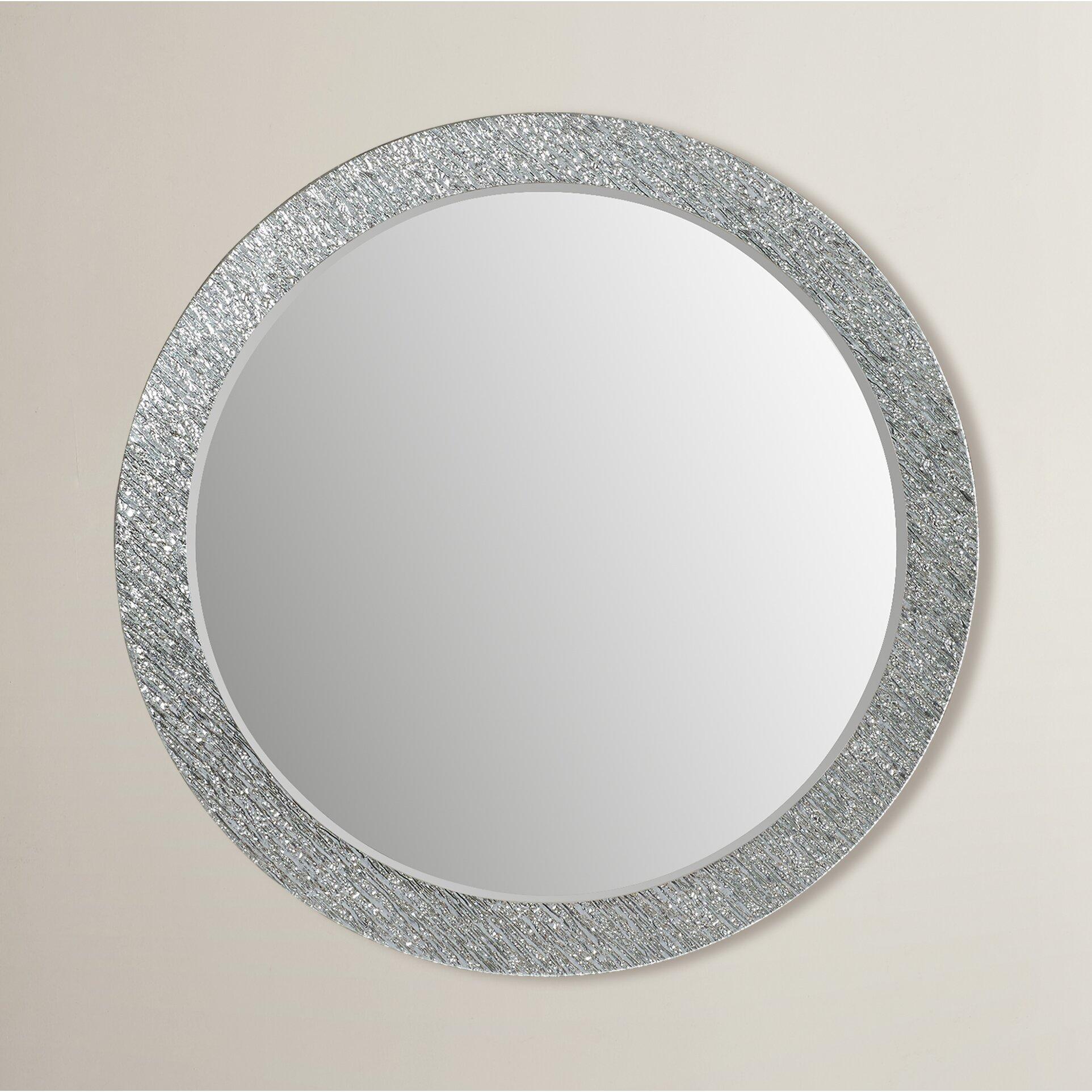 Beachcrest Home Round Wall Mirror & Reviews | Wayfair
