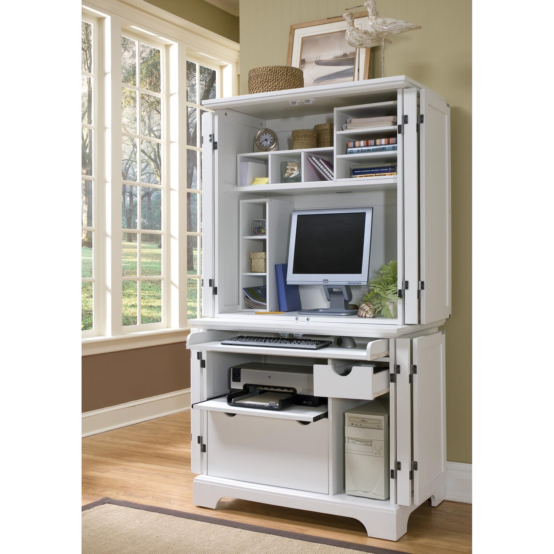 perth amboy compact office cabinet and hutch wayfair wholesale kitchen cabinet distributors 15 photos