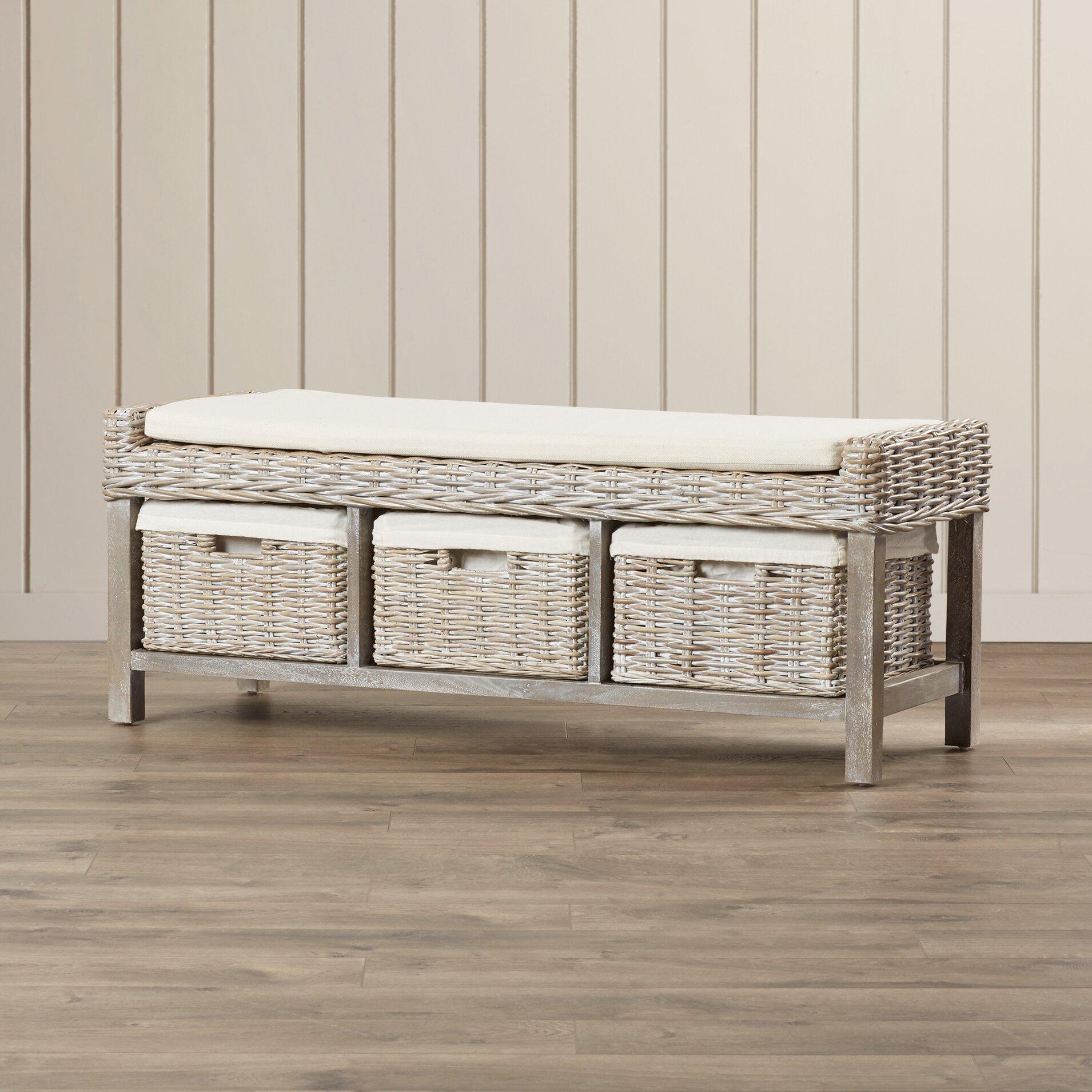 magellan wood storage bedroom bench wayfair. Black Bedroom Furniture Sets. Home Design Ideas