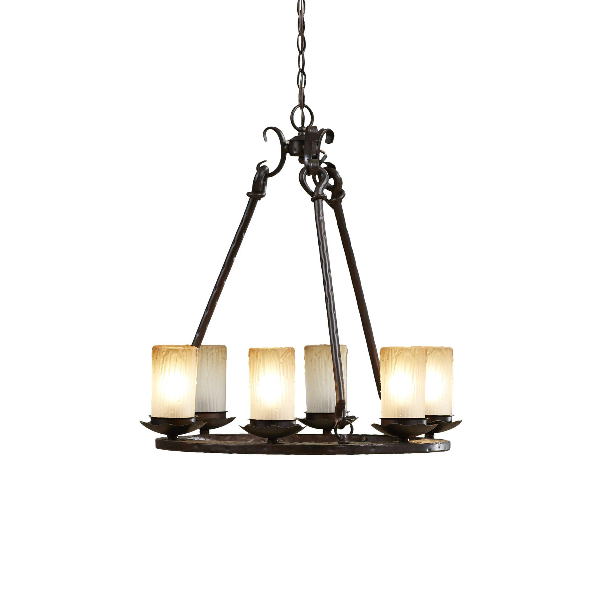 Loon Peak Rowan 6 Light Chandelier & Reviews