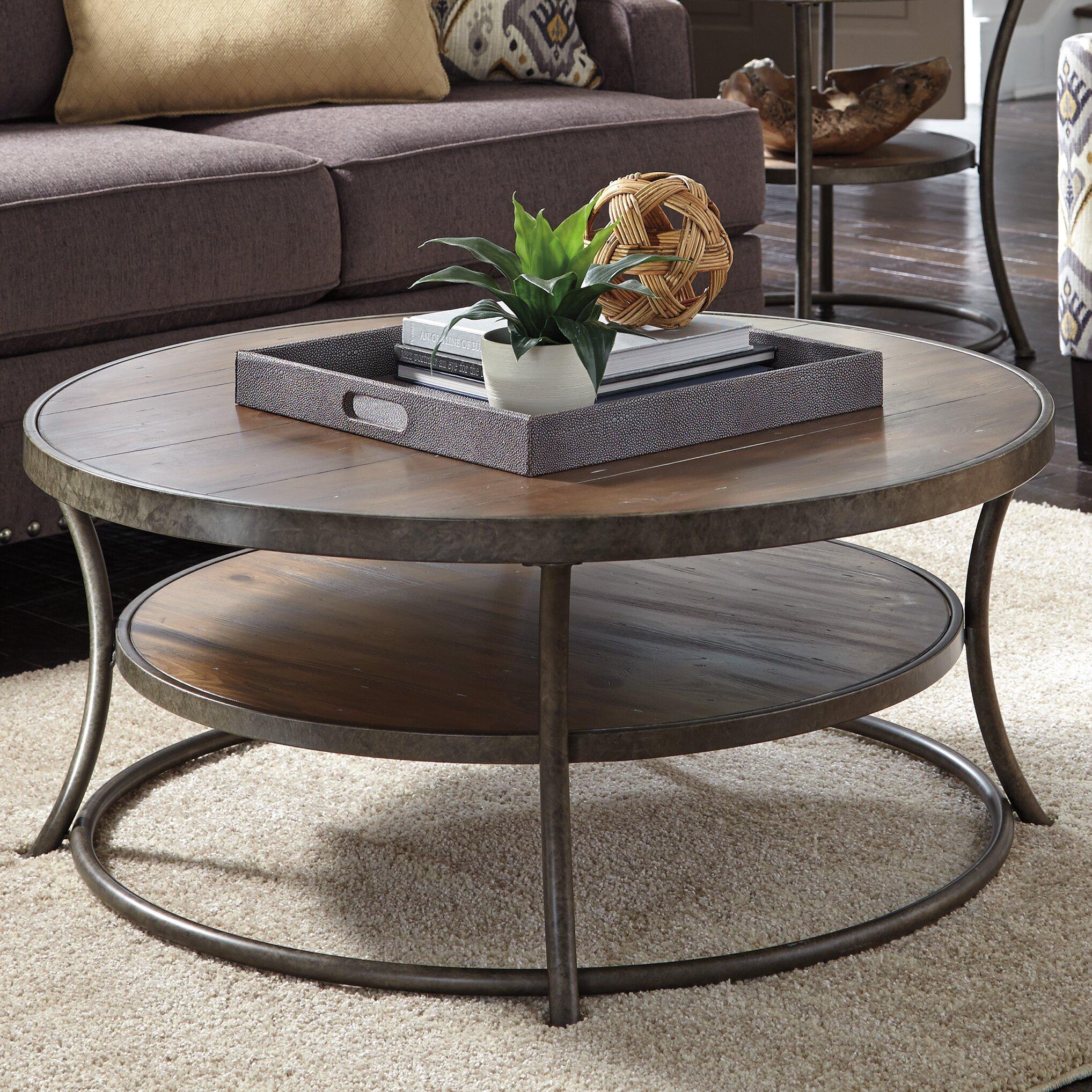 Round Coffee Tables At Homegoods: Loon Peak Bendeleben Coffee Table & Reviews