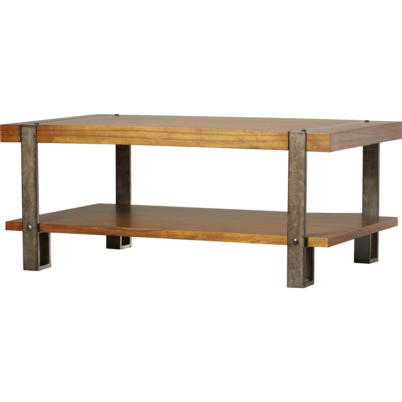 Hopper Storage Coffee Table: Loon Peak Gallatin Coffee Table & Reviews