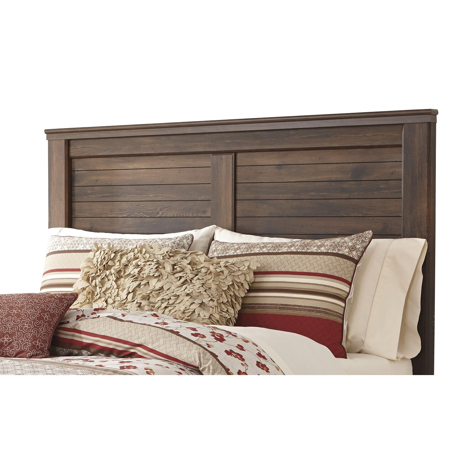 Loon Peak Flattop Wood Headboard & Reviews | Wayfair