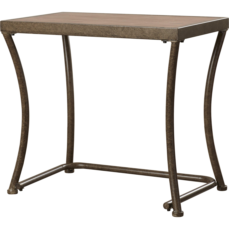 bendeleben 2 piece nesting end table set wayfair. Black Bedroom Furniture Sets. Home Design Ideas