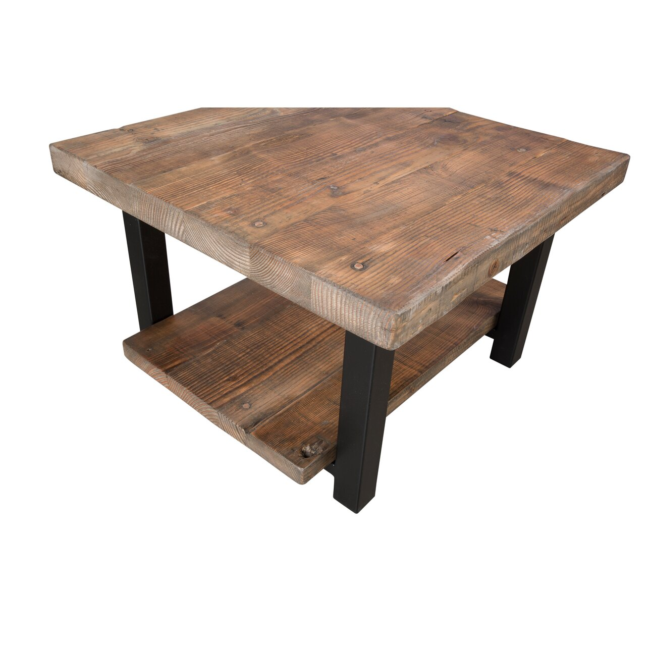 Somers 27 Reclaimed Wood Square Coffee Table