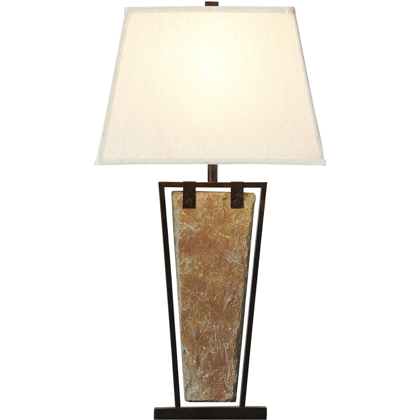 yosemite 30 h table lamp with rectangular shade reviews way. Black Bedroom Furniture Sets. Home Design Ideas