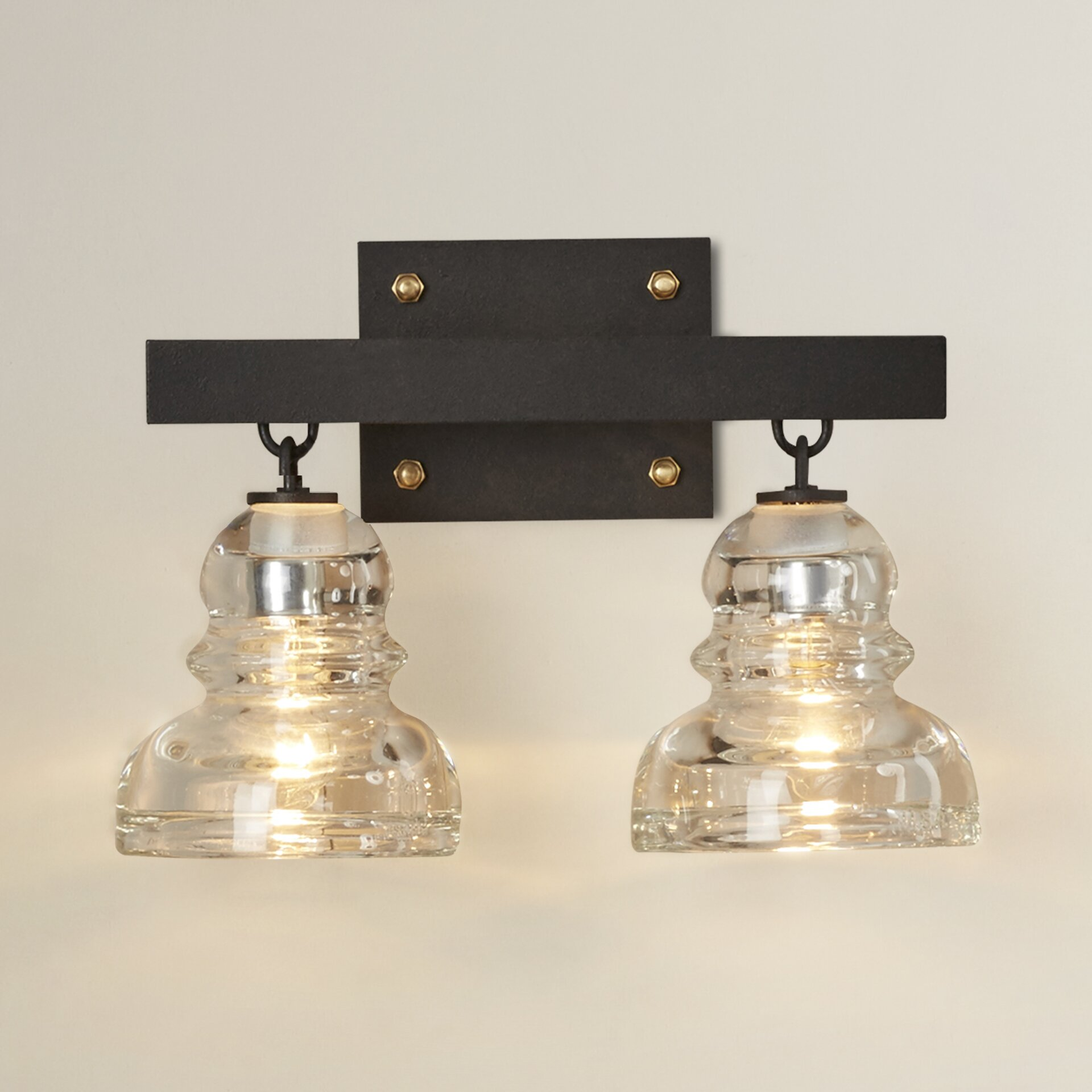 Vintage Bathroom Vanity Lighting Trent Austin Design SKU: TADN2087