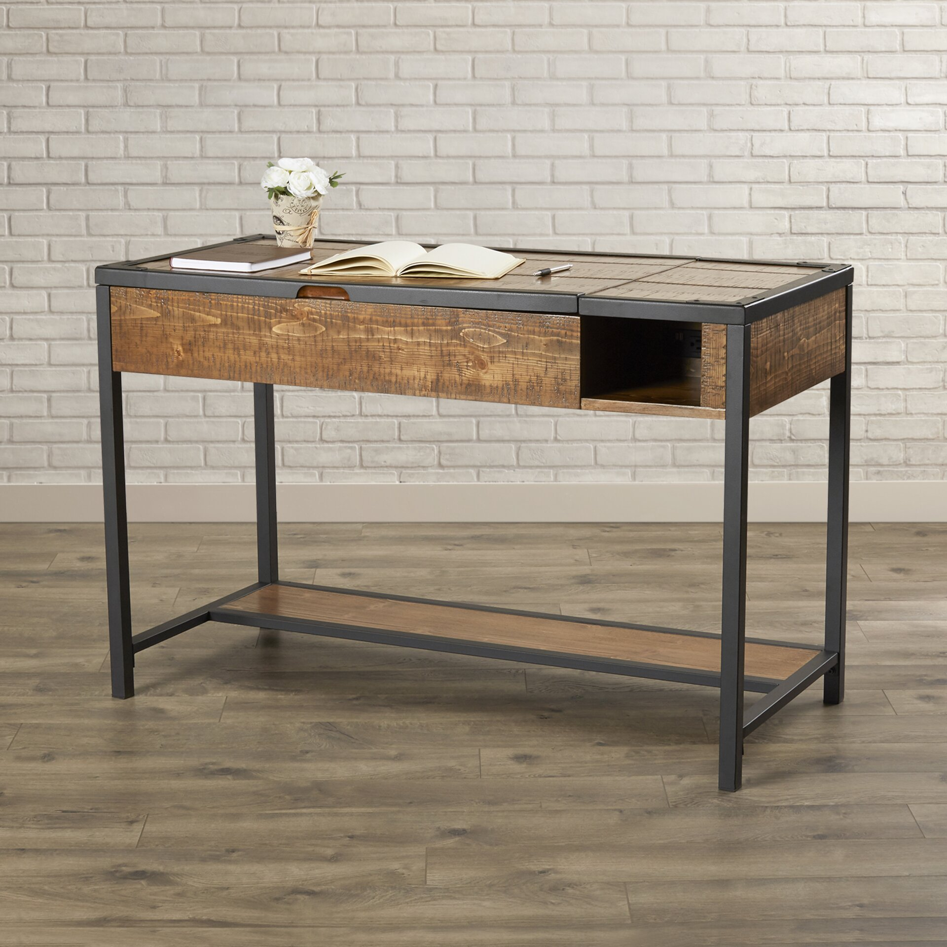Carnegie Writing Desk With Lift Top Wayfair