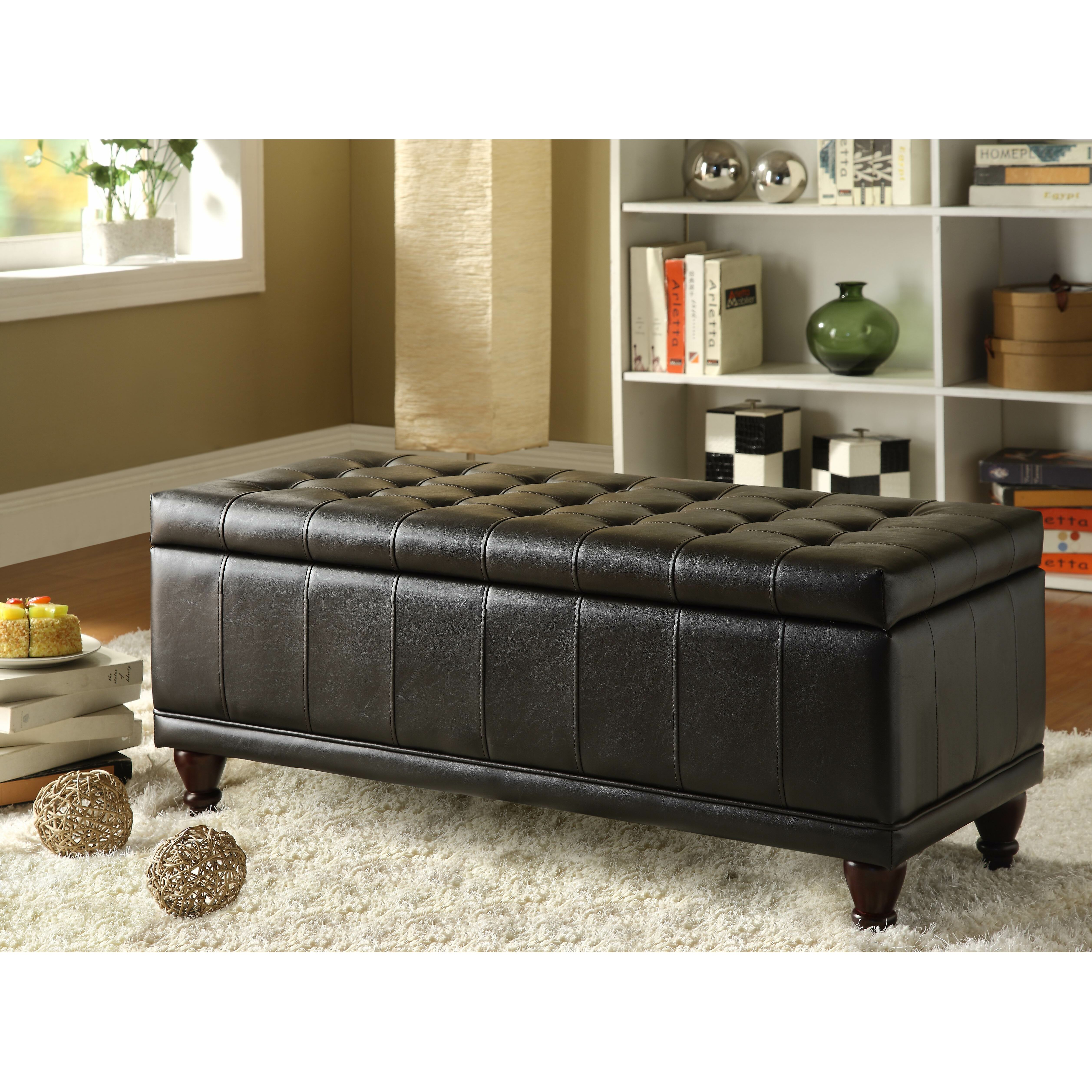 hill adelia bi cast vinyl bedroom storage ottoman reviews wayfair