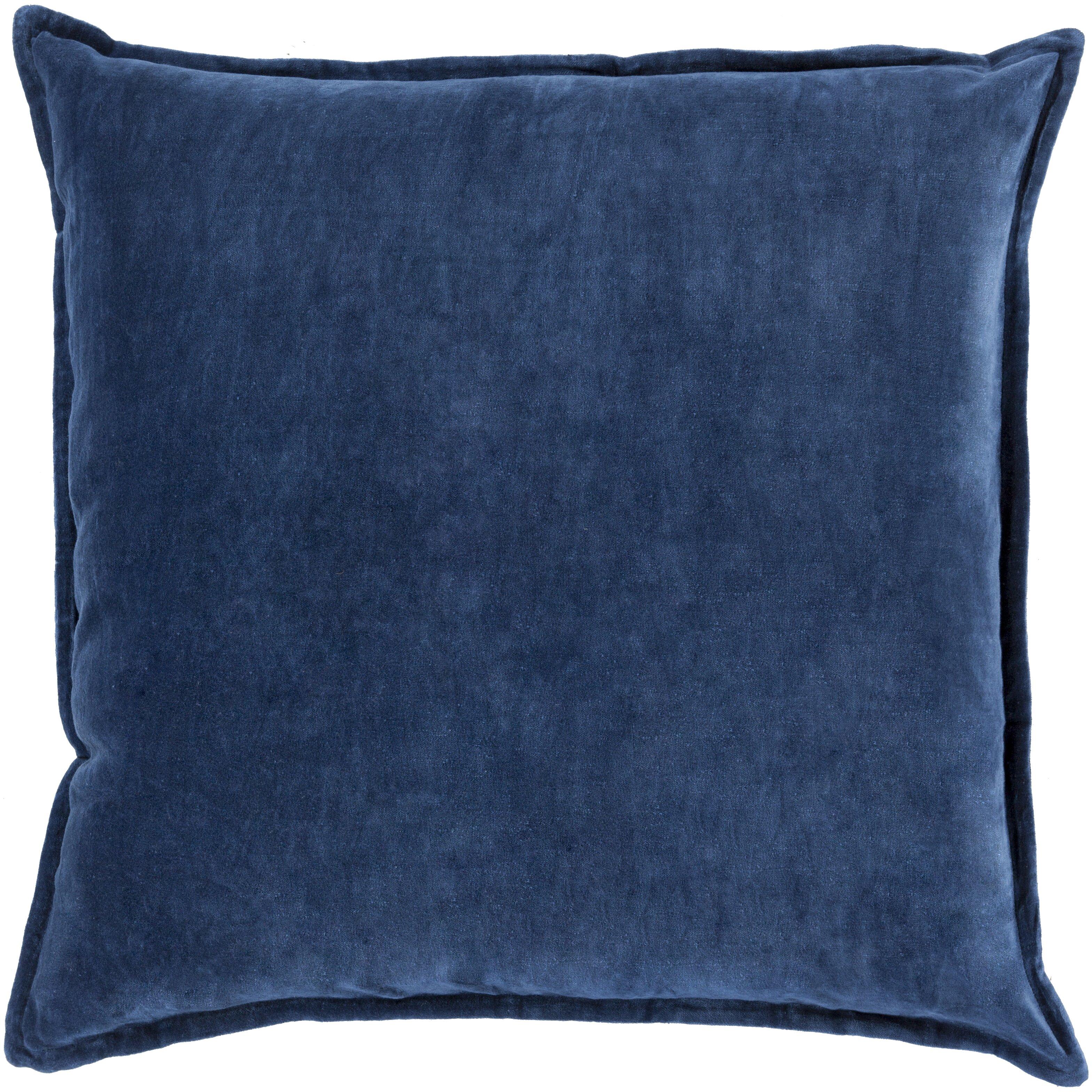 Askern smooth velvet cotton throw pillow wayfair for Buy hampton inn pillows