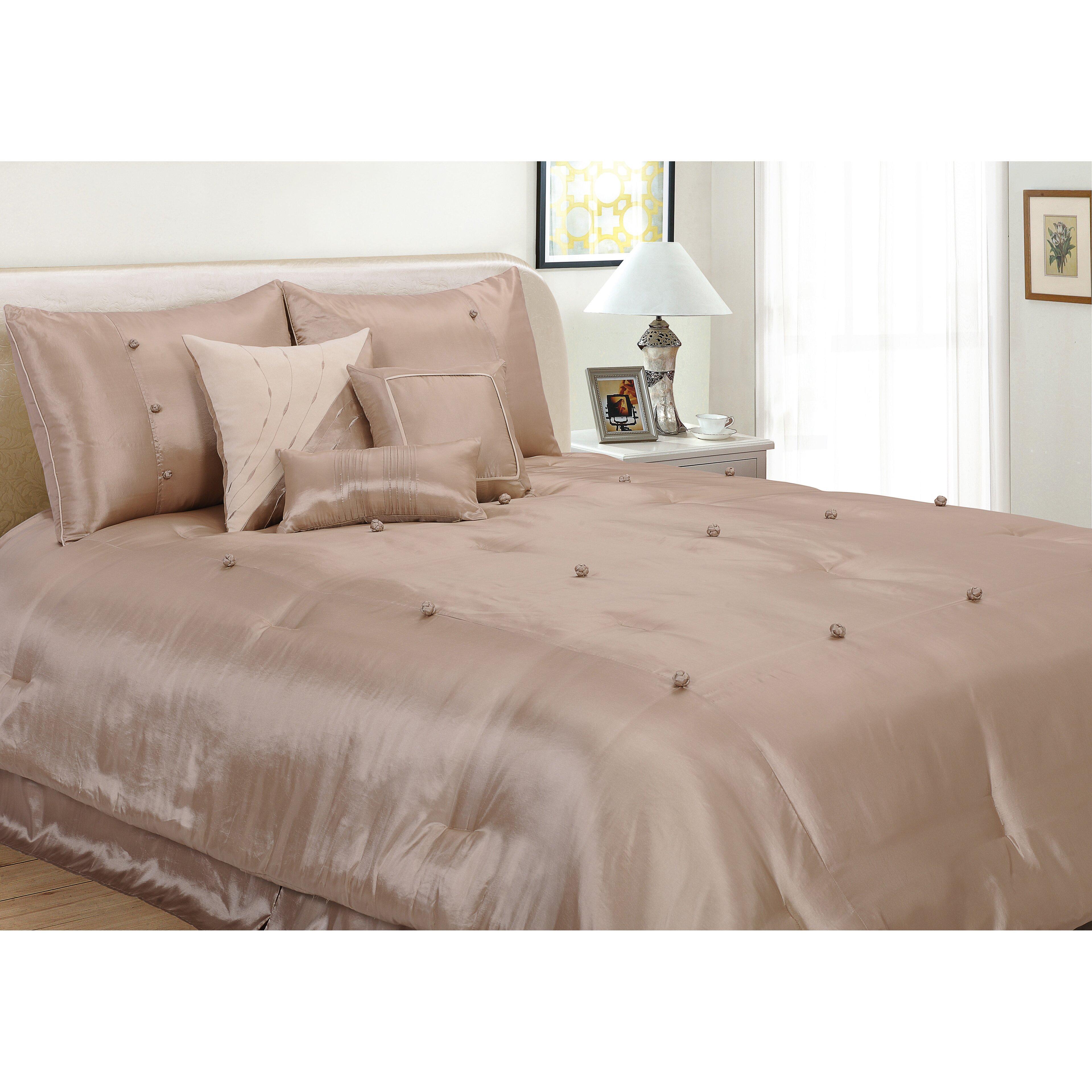 House of hampton stockton on tees 7 piece comforter set for House of hampton bedding