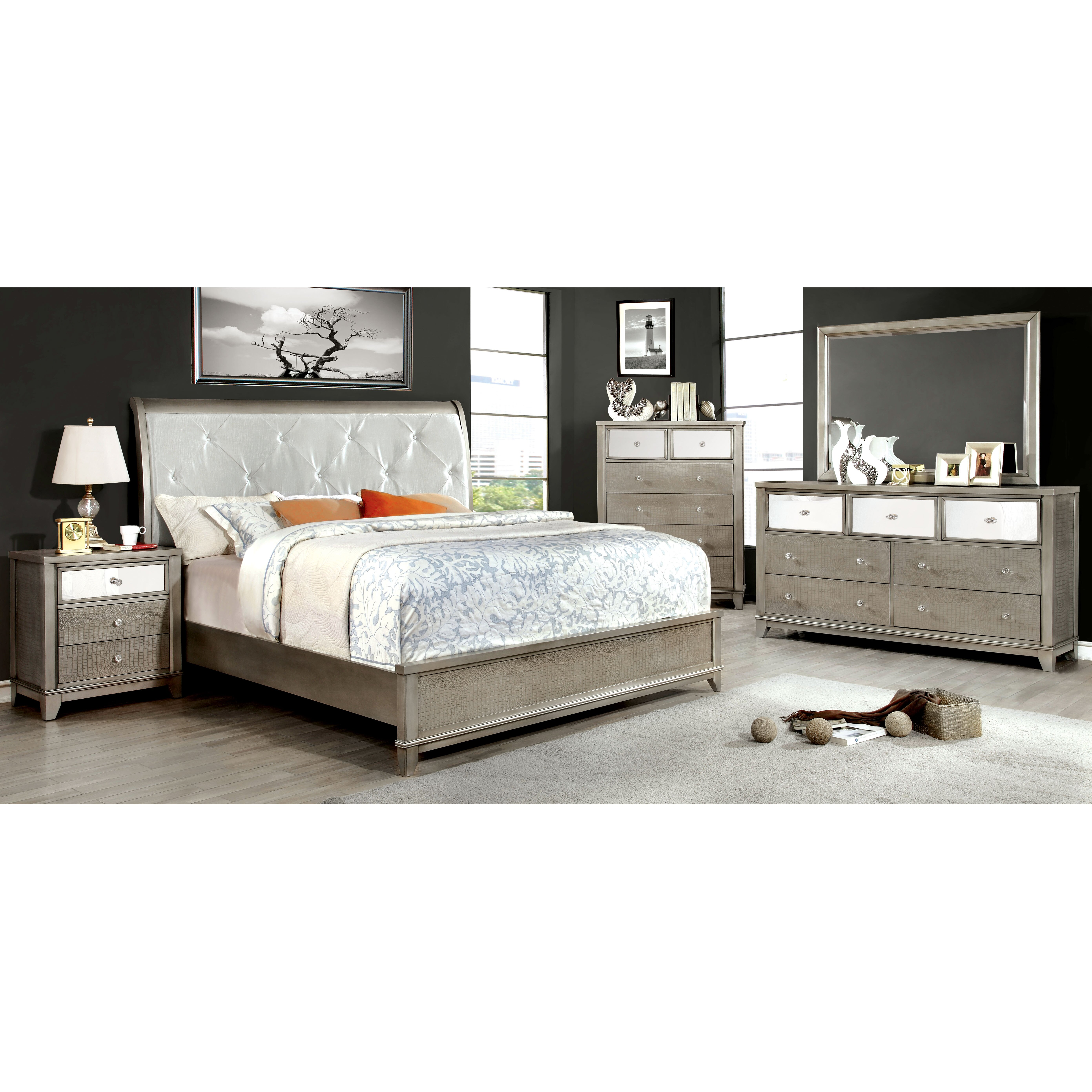 House Of Hampton Platform Customizable Bedroom Set Reviews Wayfair