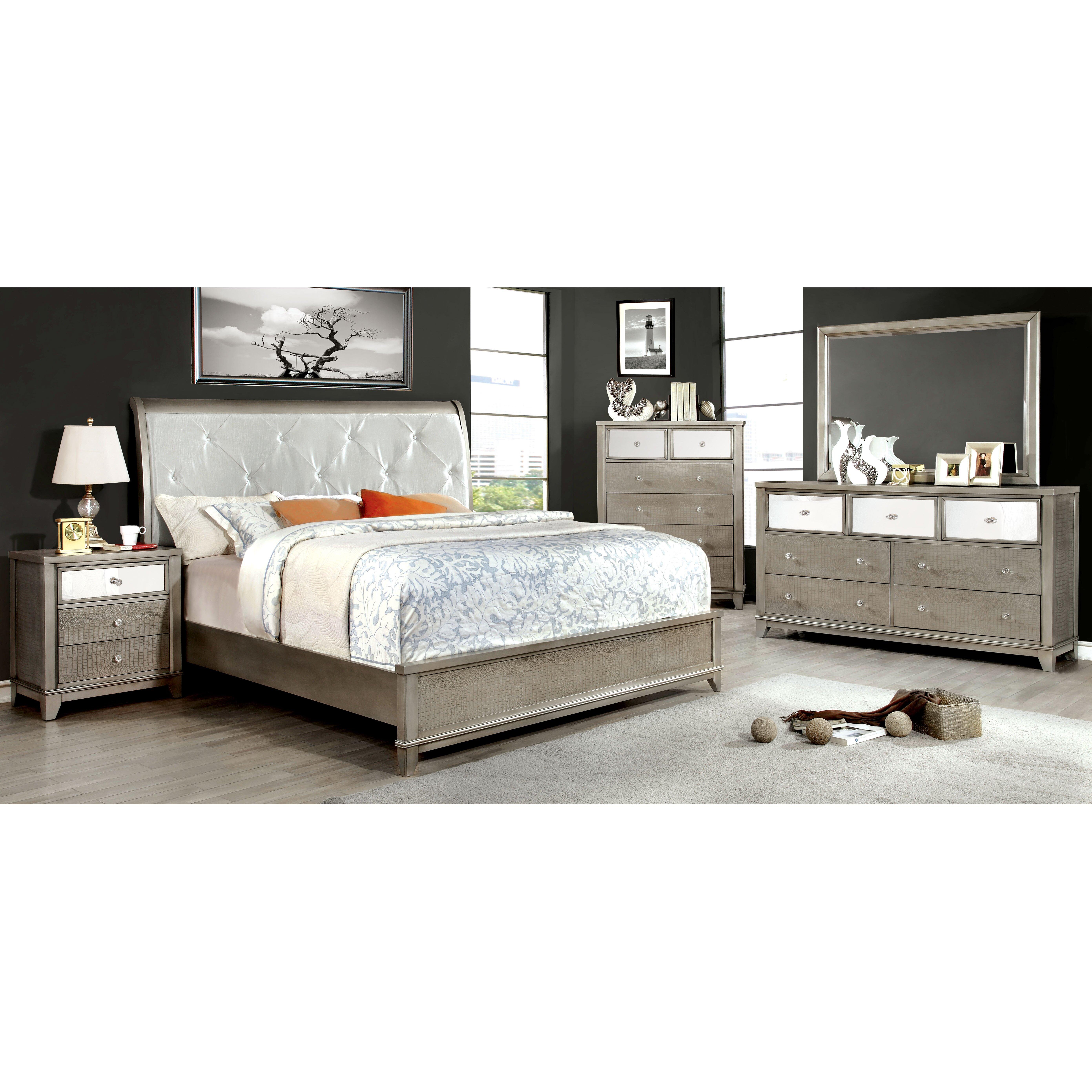 house of hampton platform customizable bedroom set
