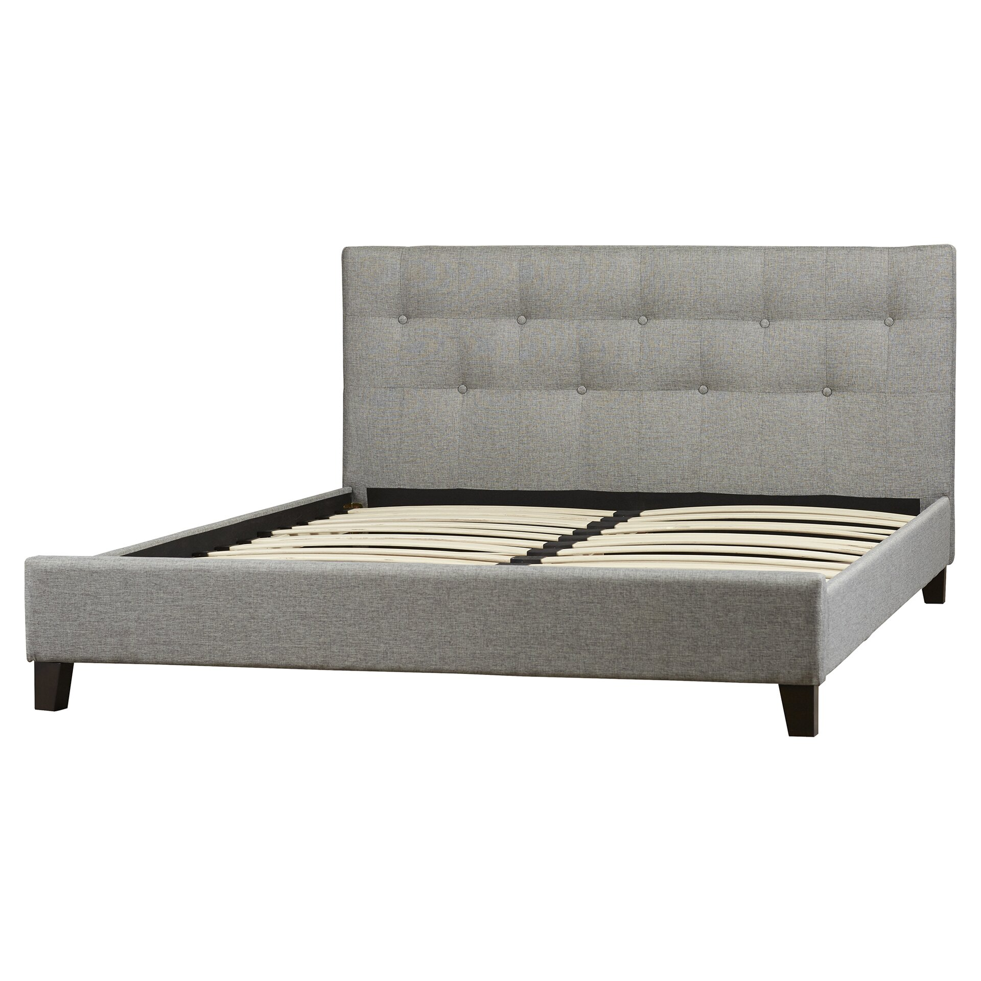 Upholstered Platform Bed : ... of Hampton Blanchett Upholstered Platform Bed & Reviews  Wayfair