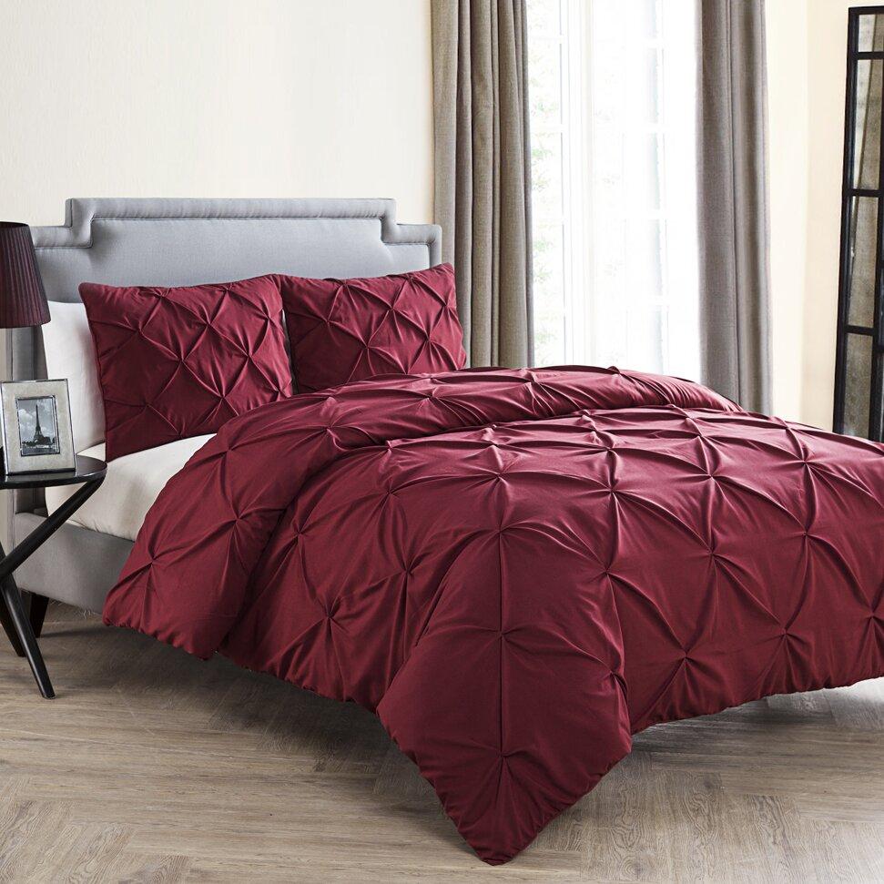 Mignault 4 piece comforter set for House of hampton bedding