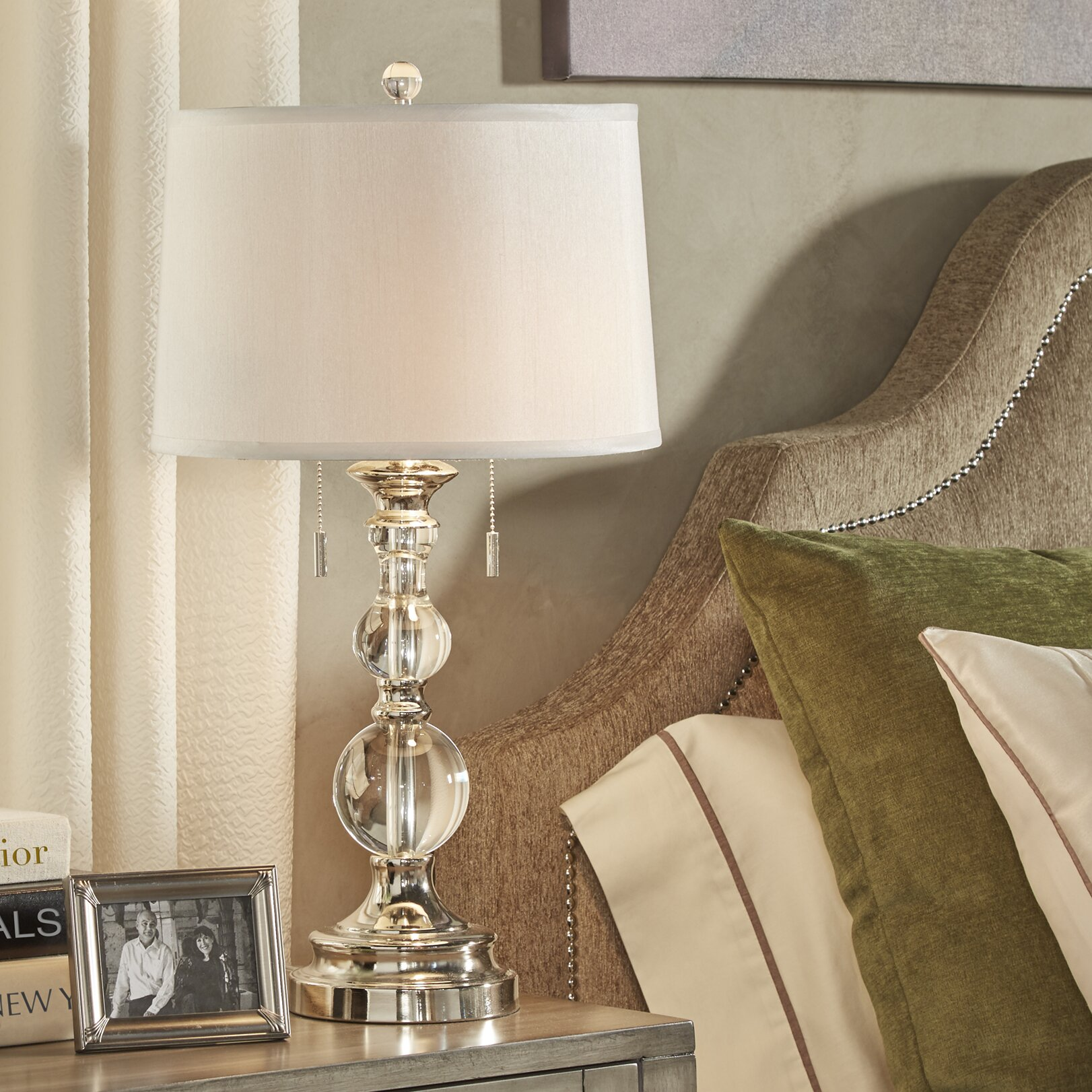 House Of Hampton Gloucester 26 5 Quot H Table Lamp With Empire