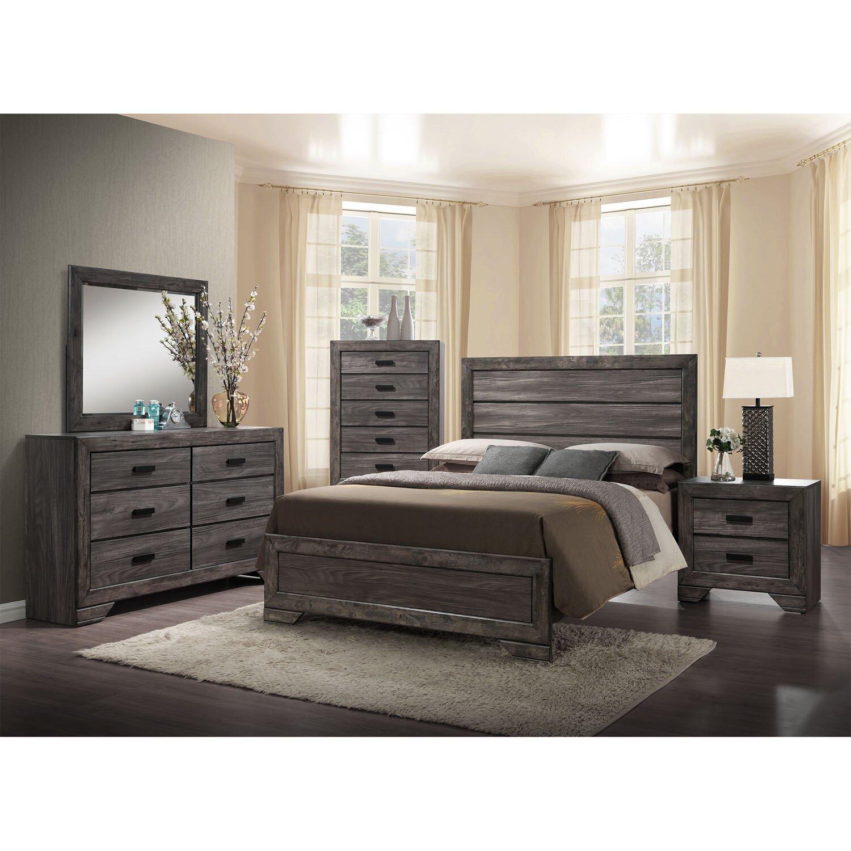drexel panel 5 piece bedroom set wayfair
