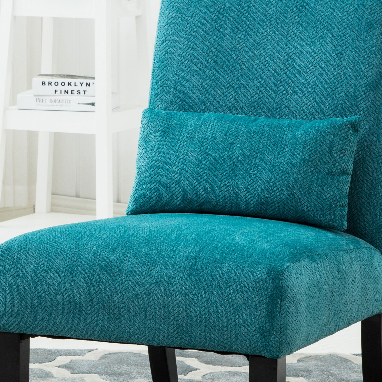 roundhill furniture pisano slipper chair reviews wayfair. Black Bedroom Furniture Sets. Home Design Ideas