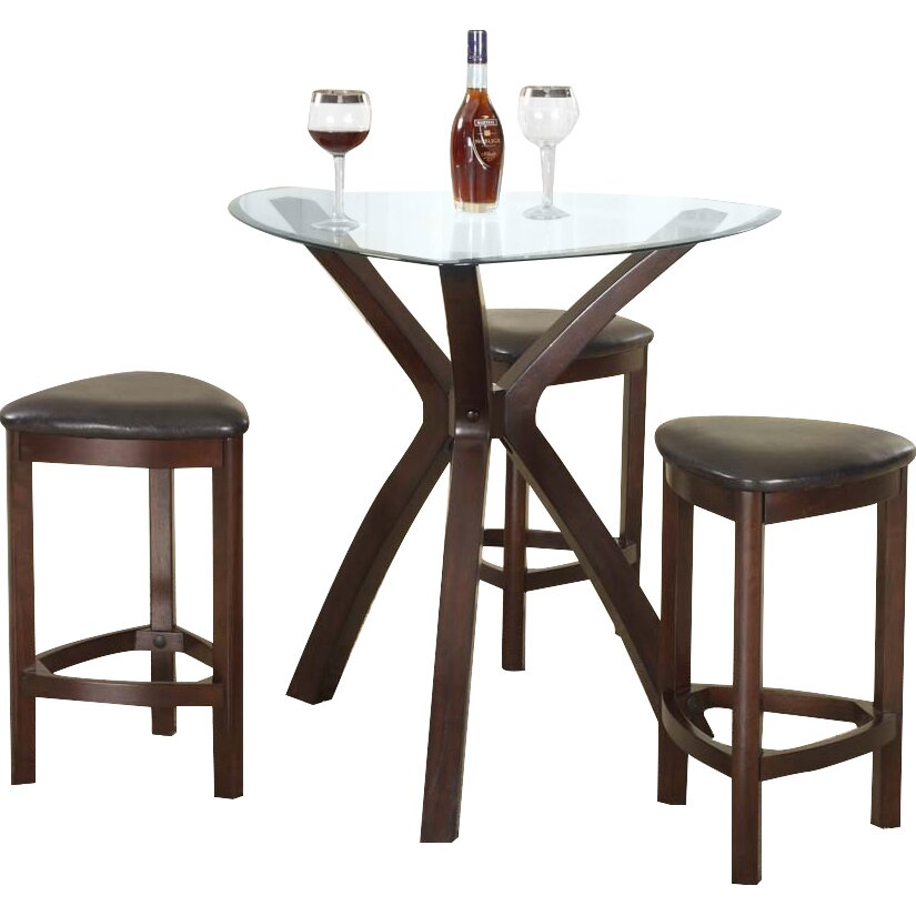 4 Piece Counter Height Pub Table Set Wayfair
