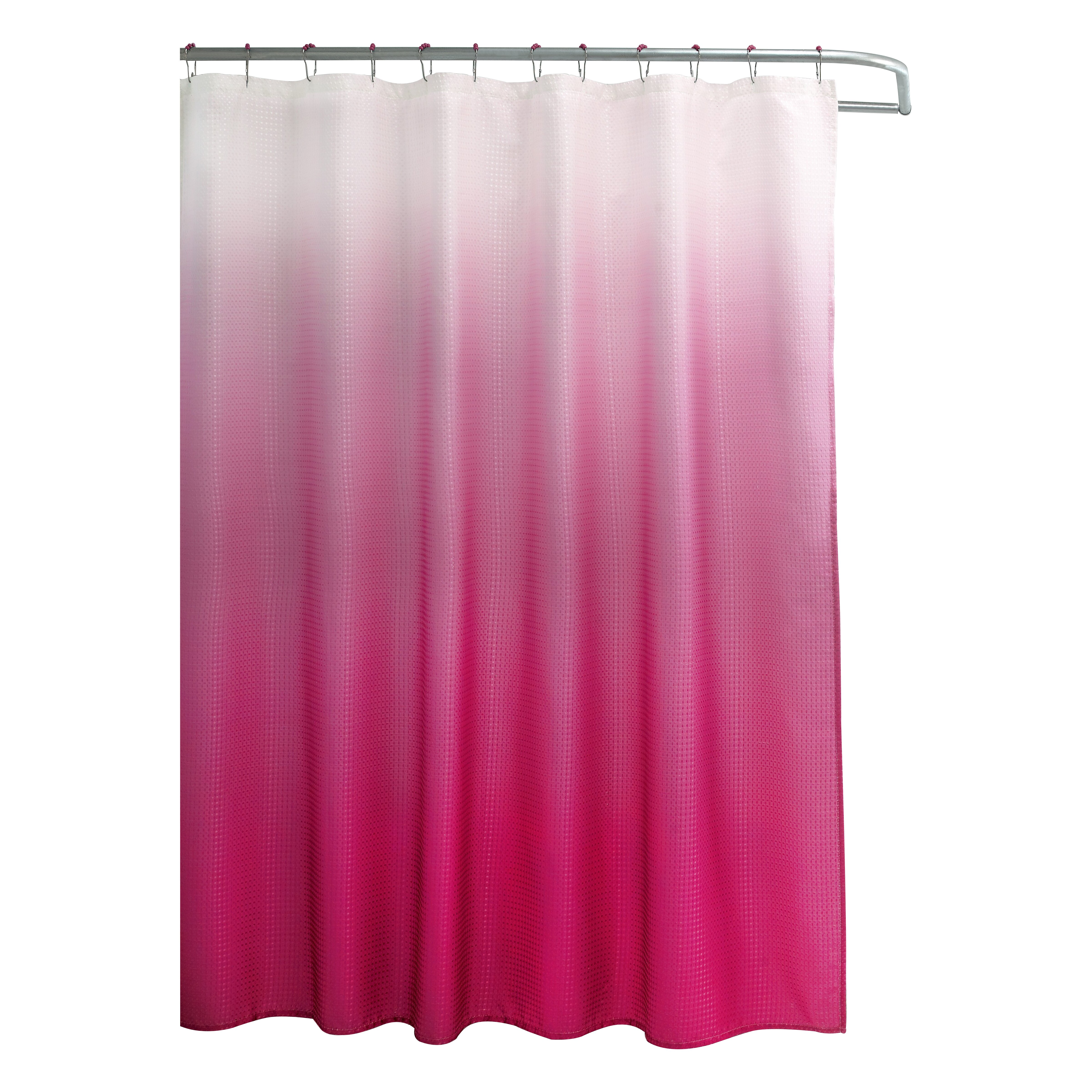 Bungalow Rose Tighdouine Waffle Fabric Weave Shower