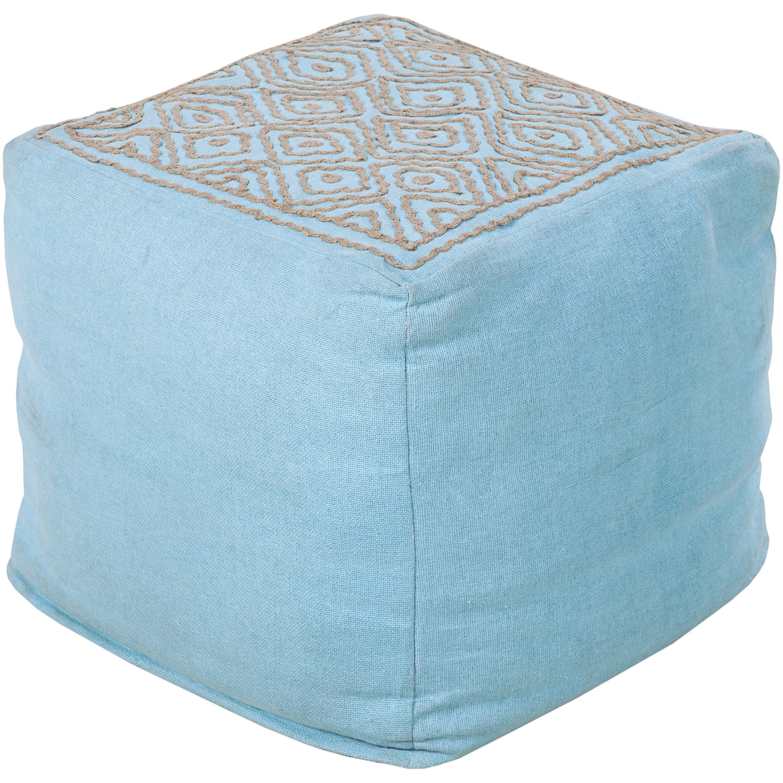 chapawee cube pouf ottoman wayfair. Black Bedroom Furniture Sets. Home Design Ideas