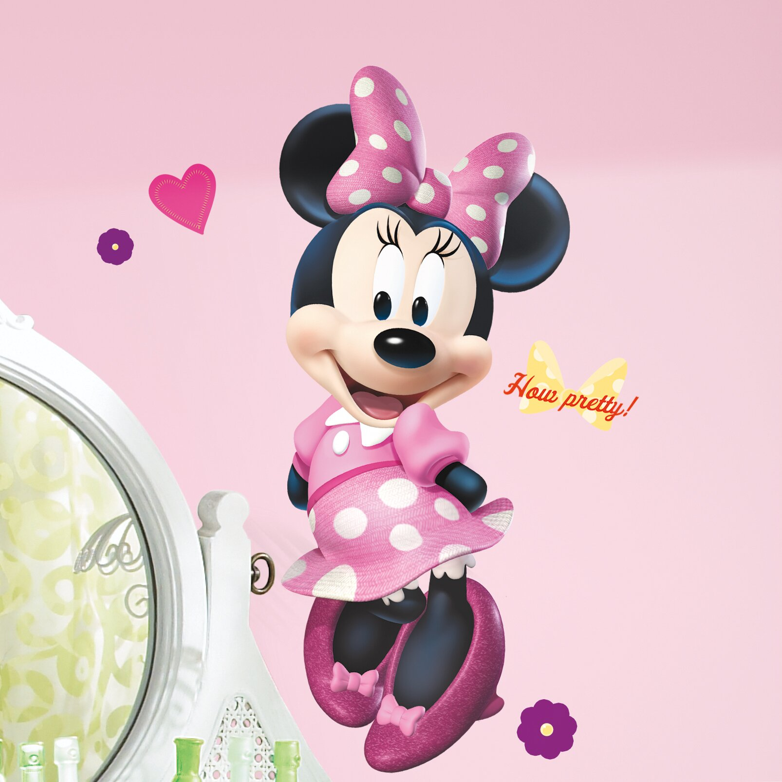 Popular Characters Mickey And Friends Minnie Bowtique