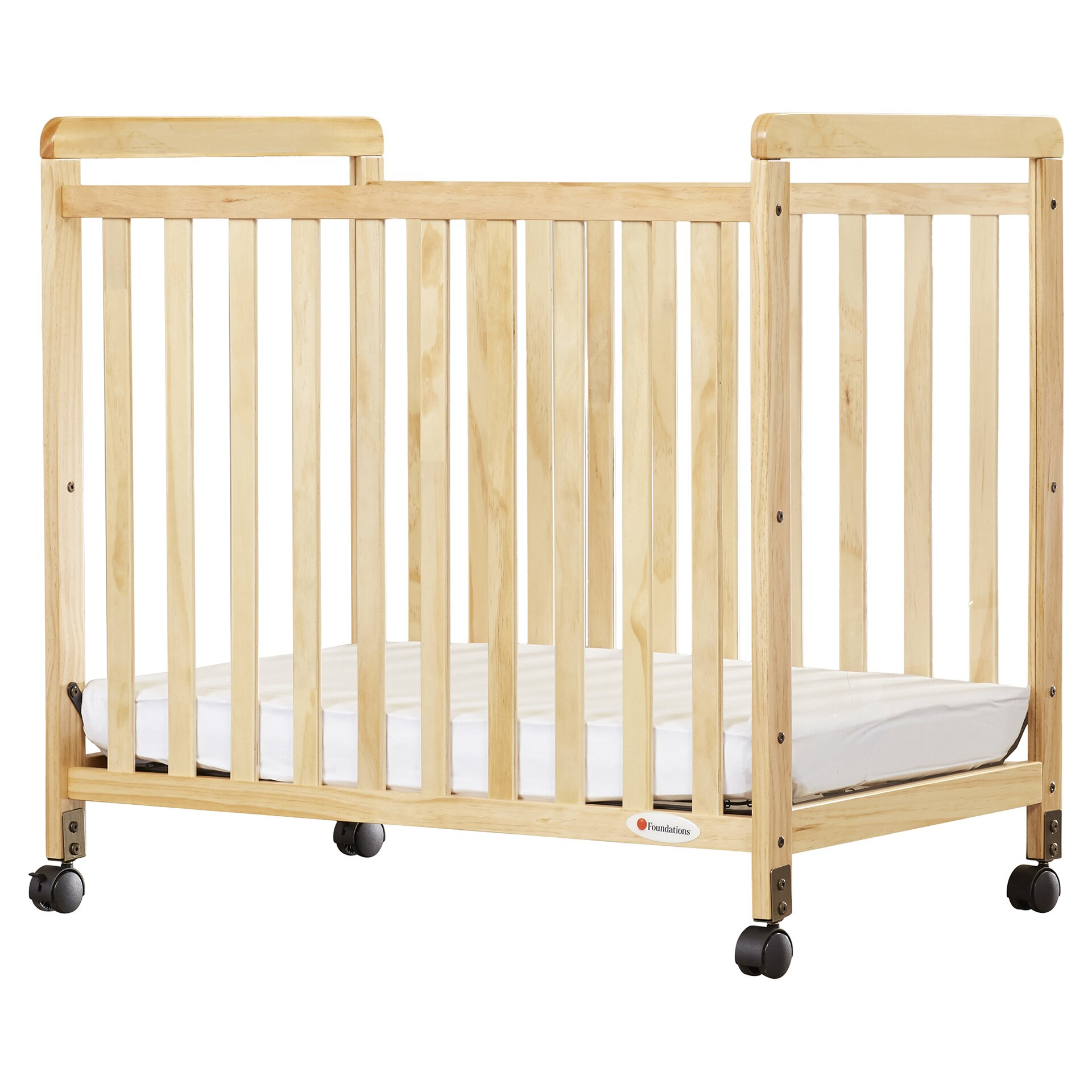 Sawyer pact Size Clearview Convertible Crib with