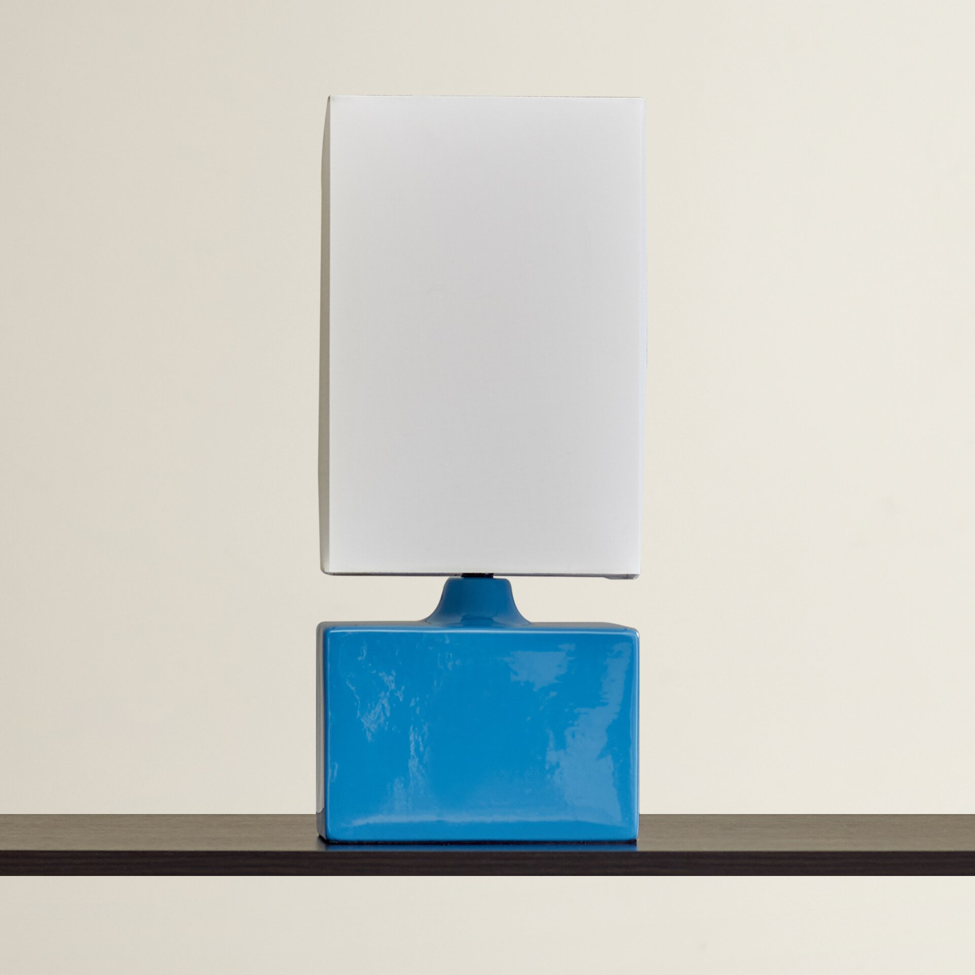 oliver 17 5 h table lamp with rectangular shade by viv rae. Black Bedroom Furniture Sets. Home Design Ideas