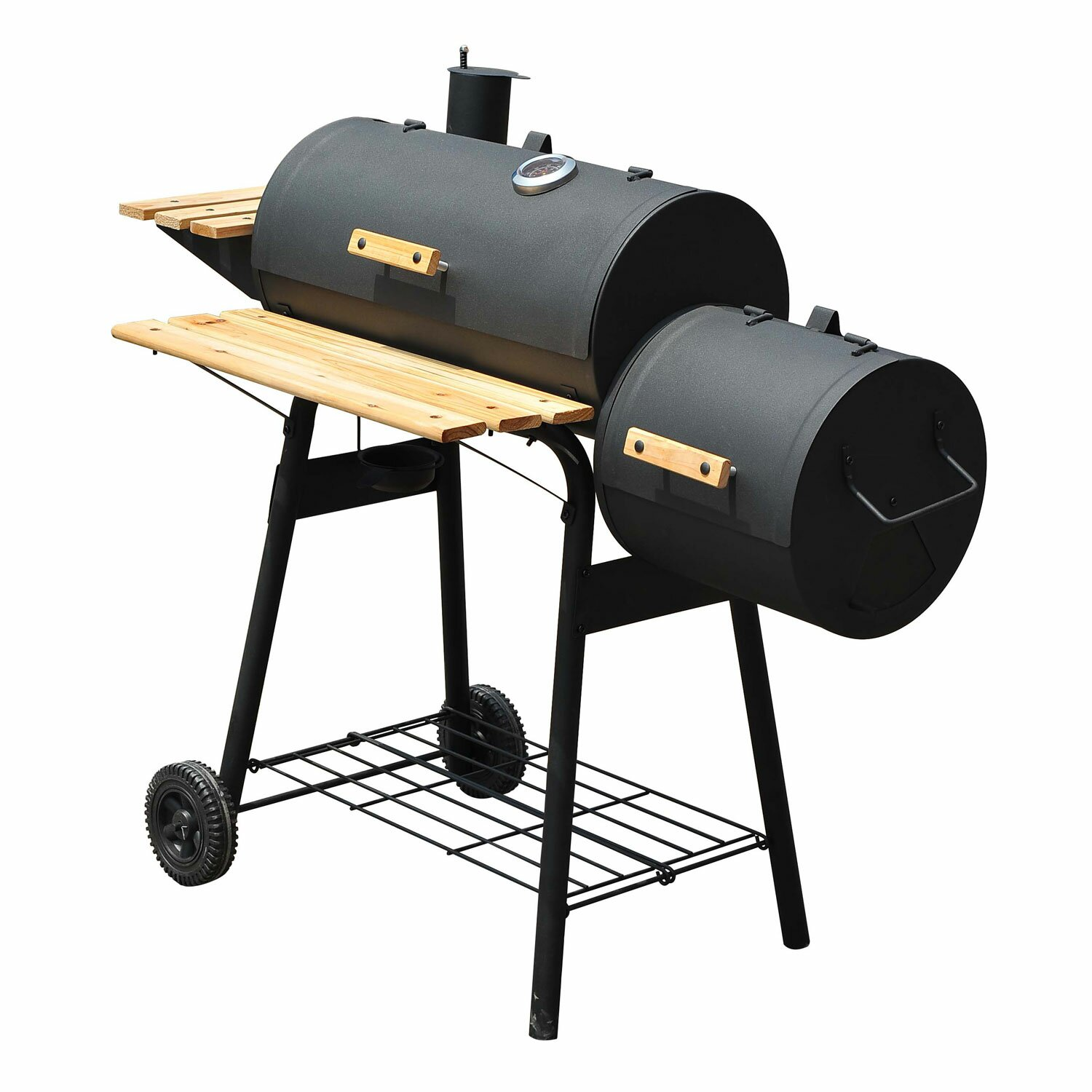 Patio Charcoal Grill 48 Backyard Charcoal Grill With Wheels Wayfair .