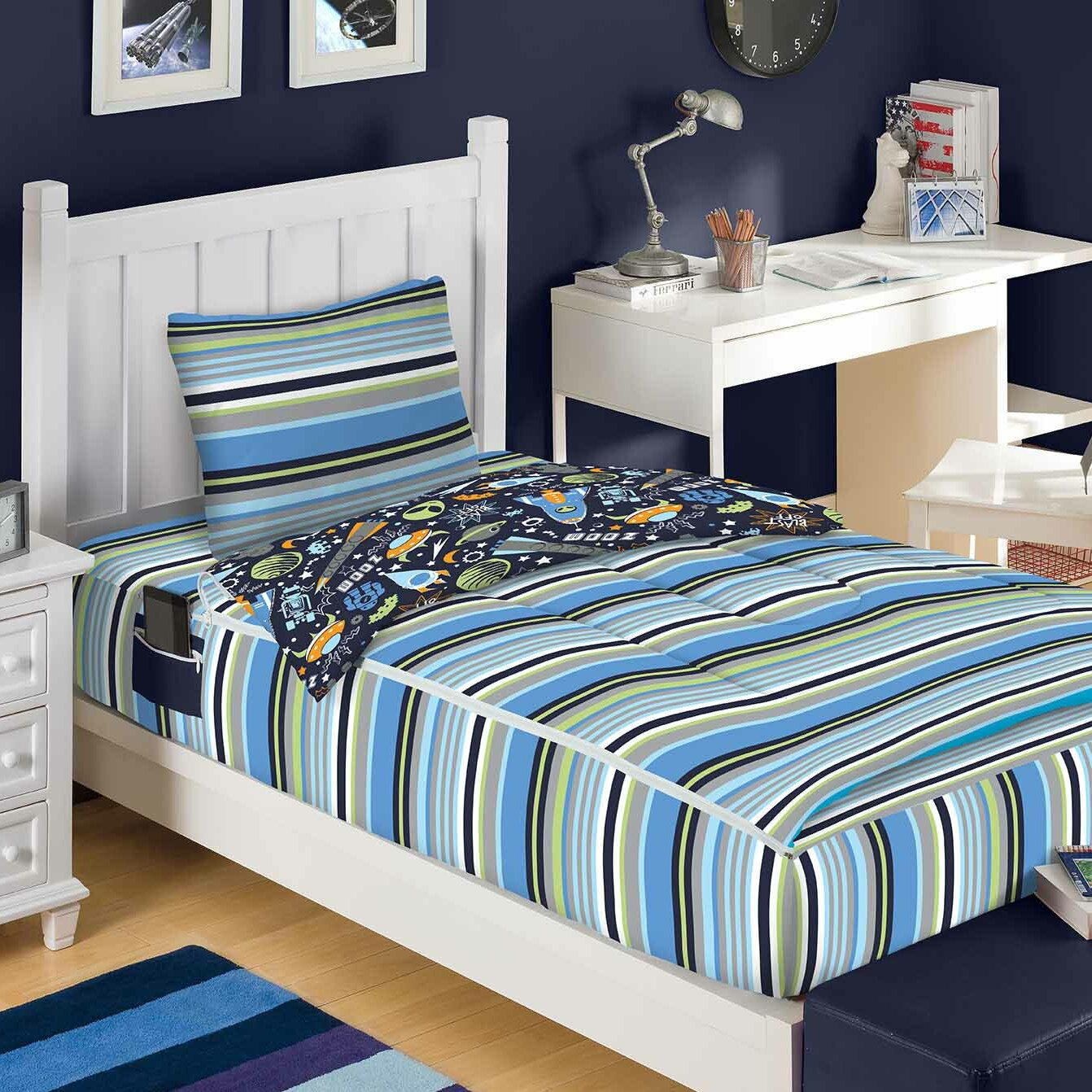 Outer Space Bed In A Bag Set Wayfair