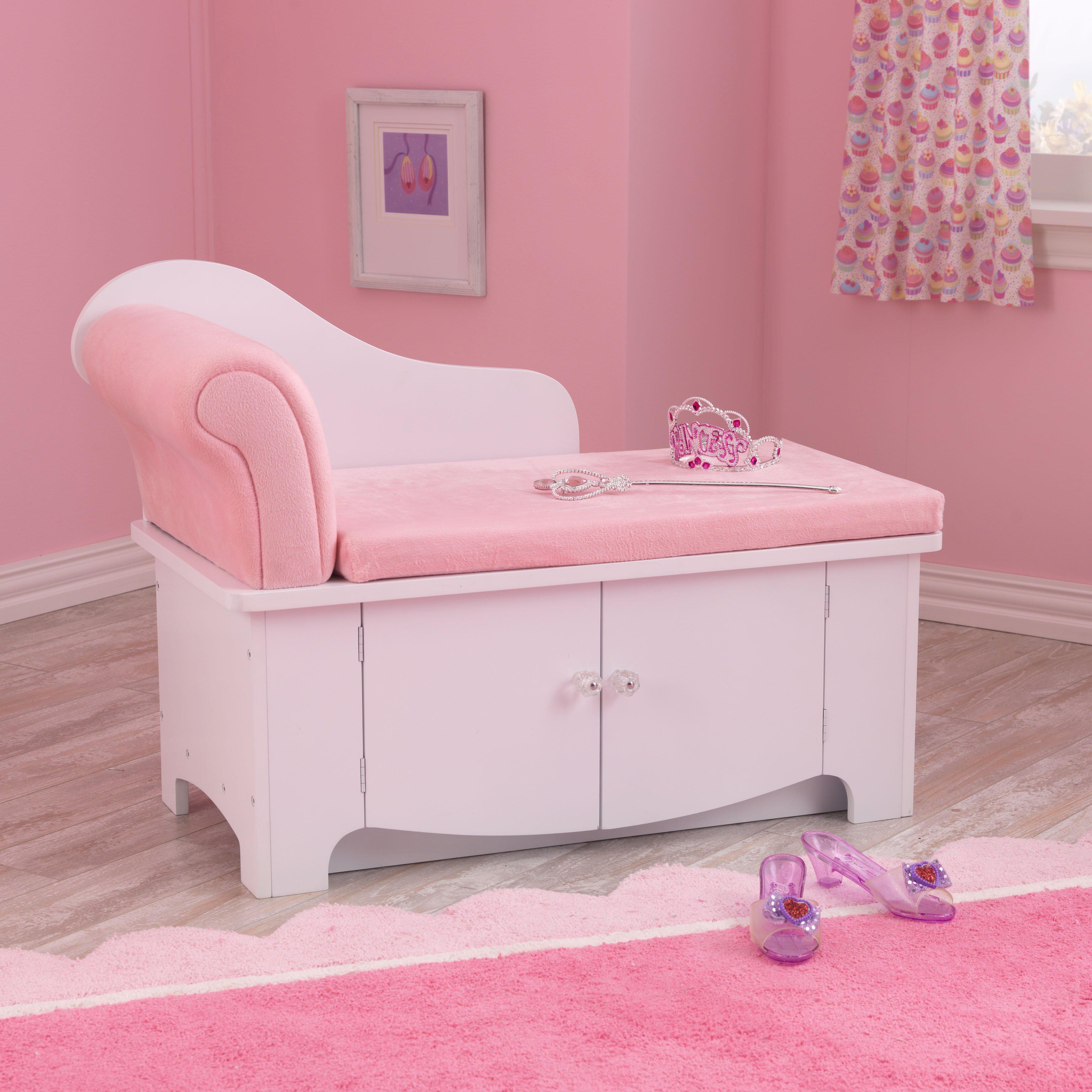 KidKraft Princess Kids Chaise Lounge & Reviews